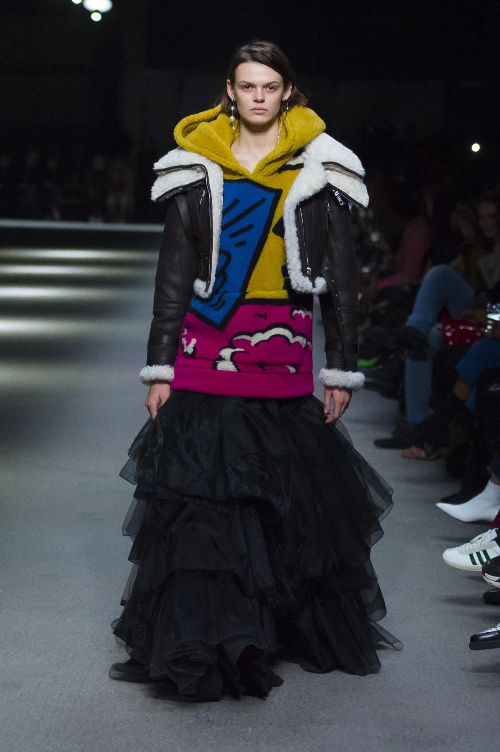 Burberry February 2018 Collection Look 24 London Fashion Week