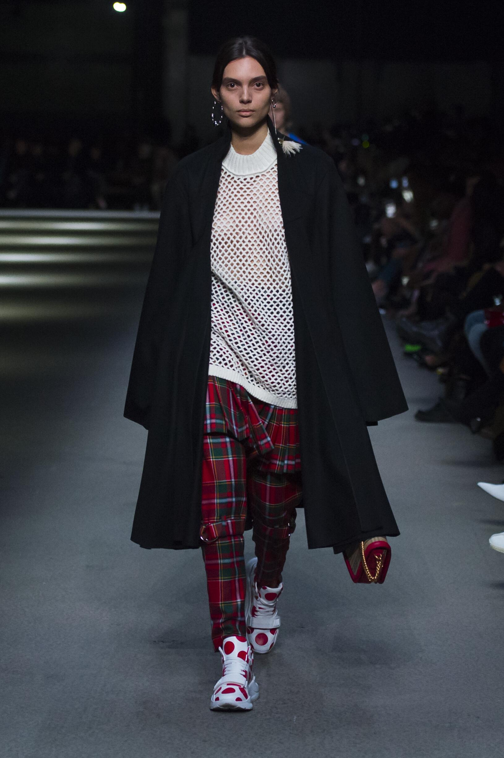 Burberry February 2018 Collection Look 28 London Fashion Week