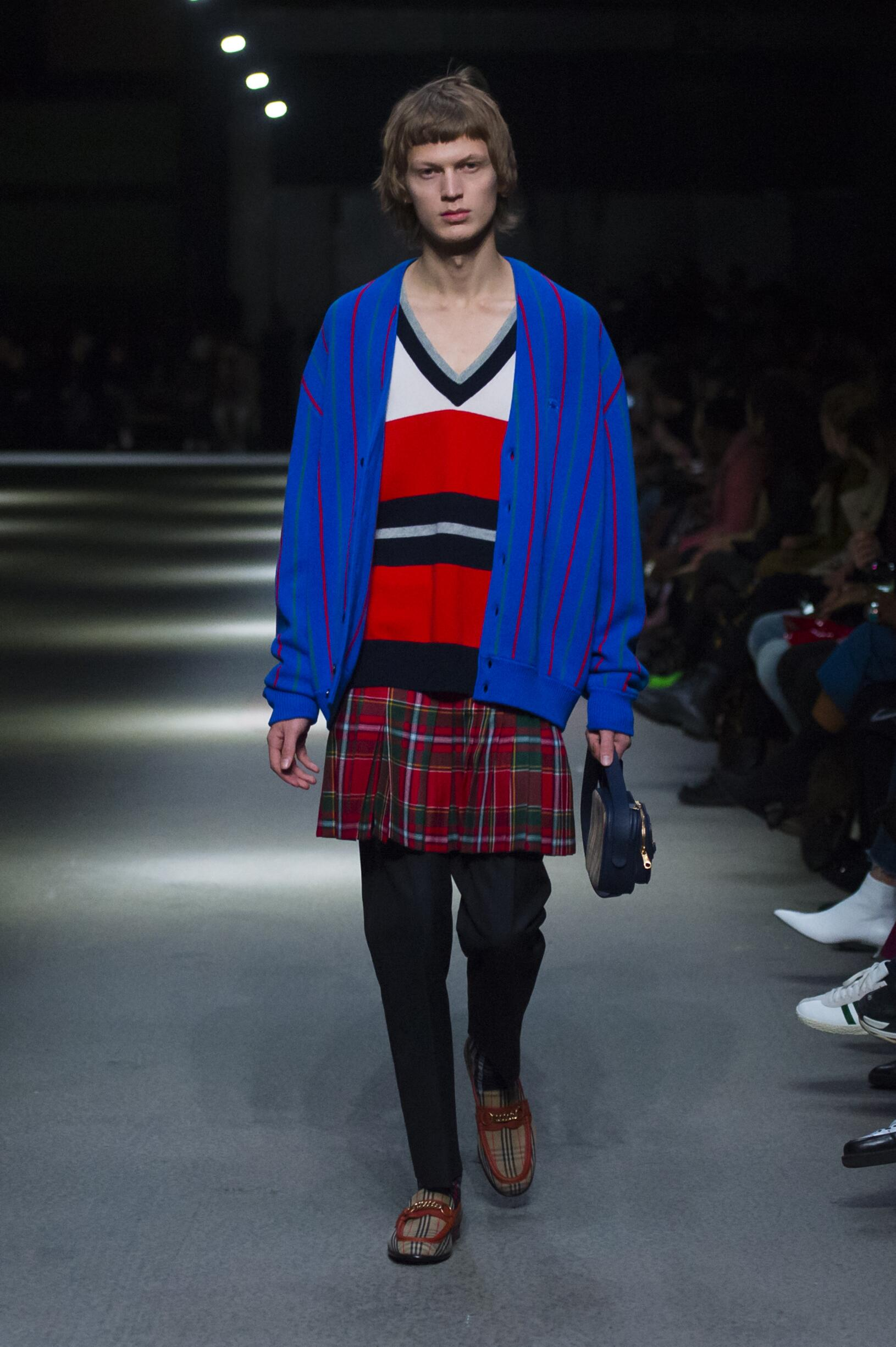 Burberry February 2018 Collection Look 29 London Fashion Week