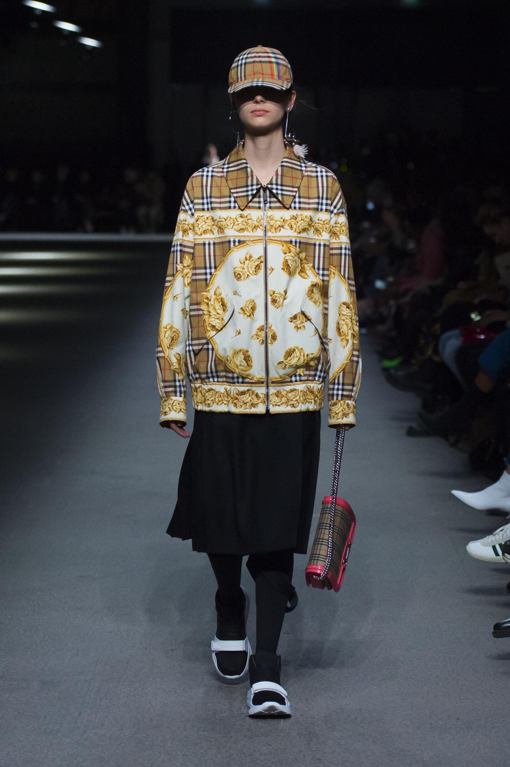 Burberry February 2018 Collection Look 31 London Fashion Week