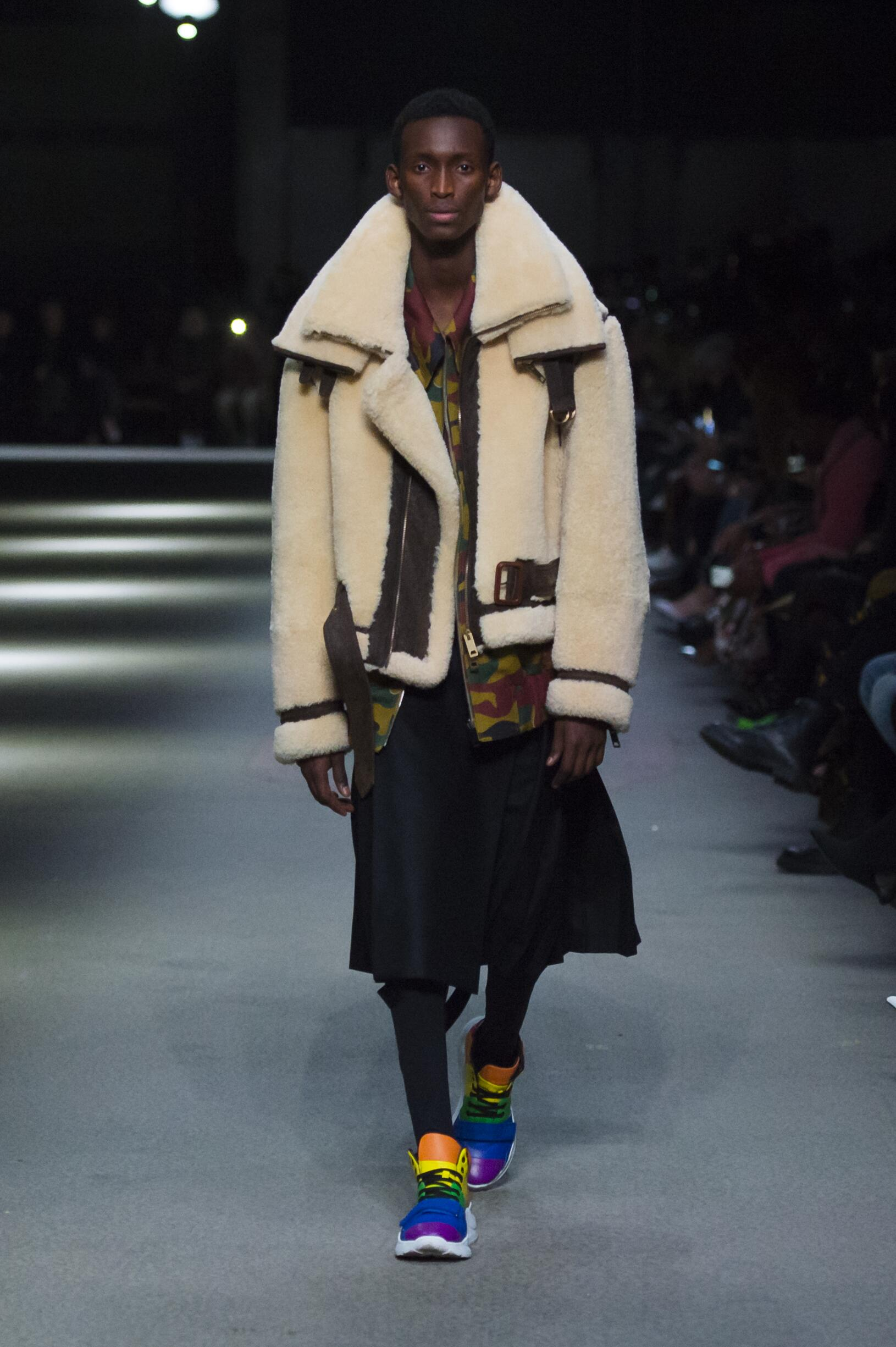 Burberry February 2018 Collection Look 36 London Fashion Week