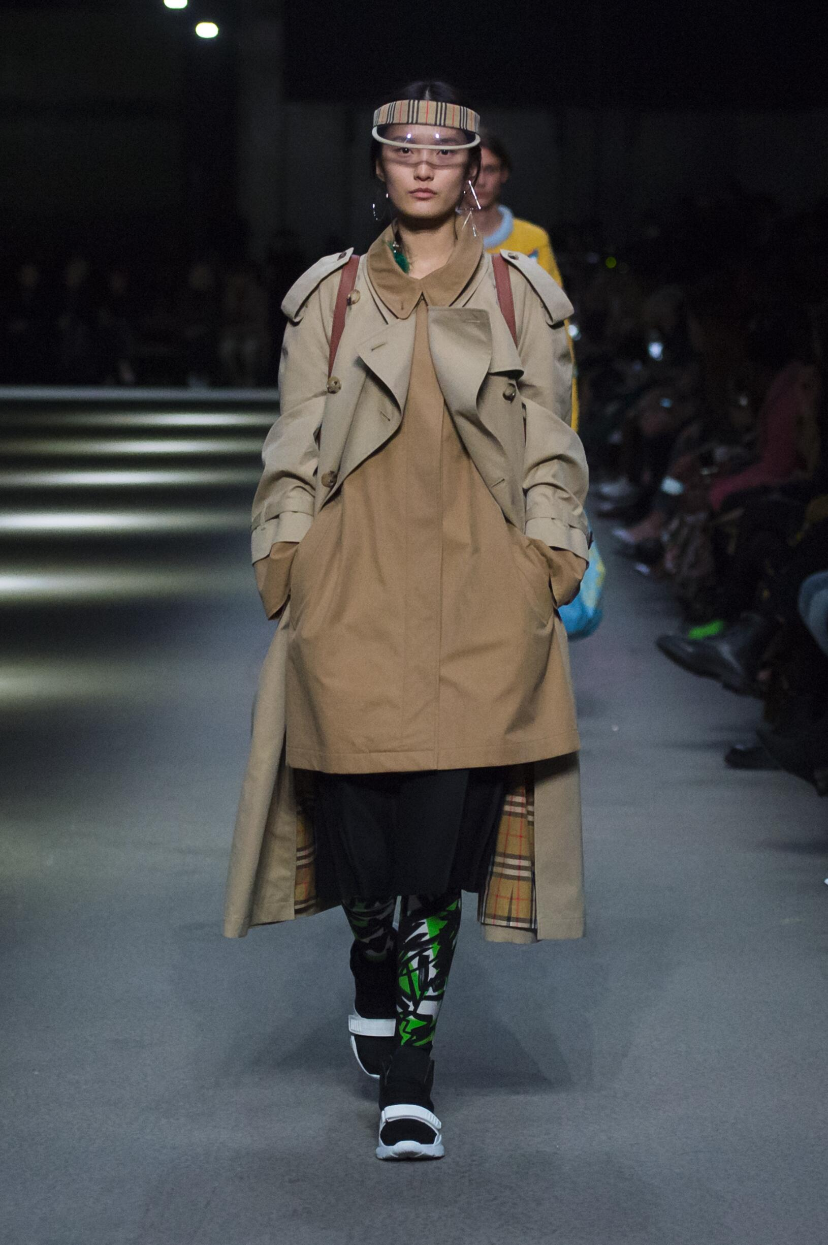 Burberry February 2018 Collection Look 37 London Fashion Week