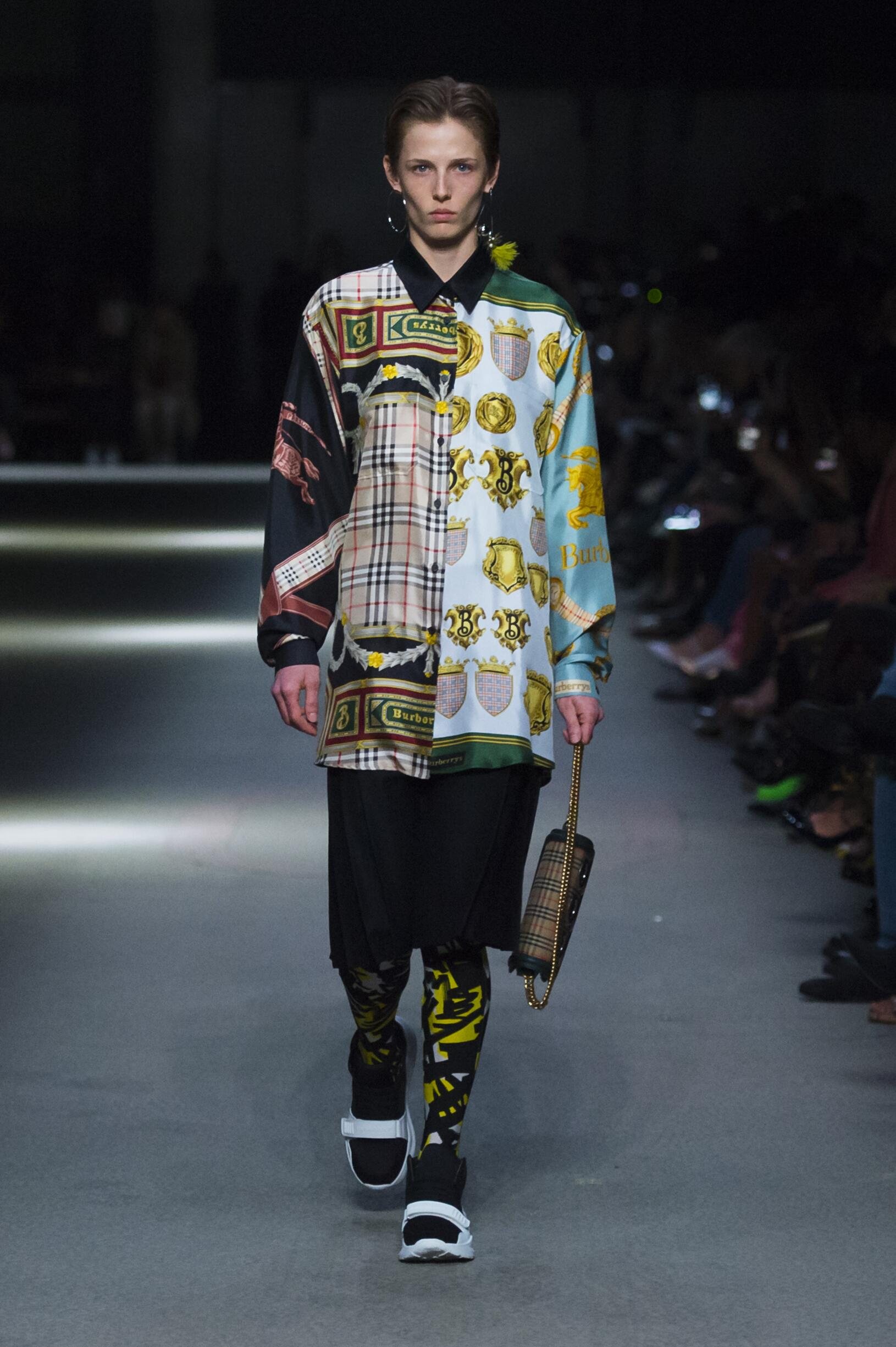 Burberry February 2018 Collection Look 4 London Fashion Week