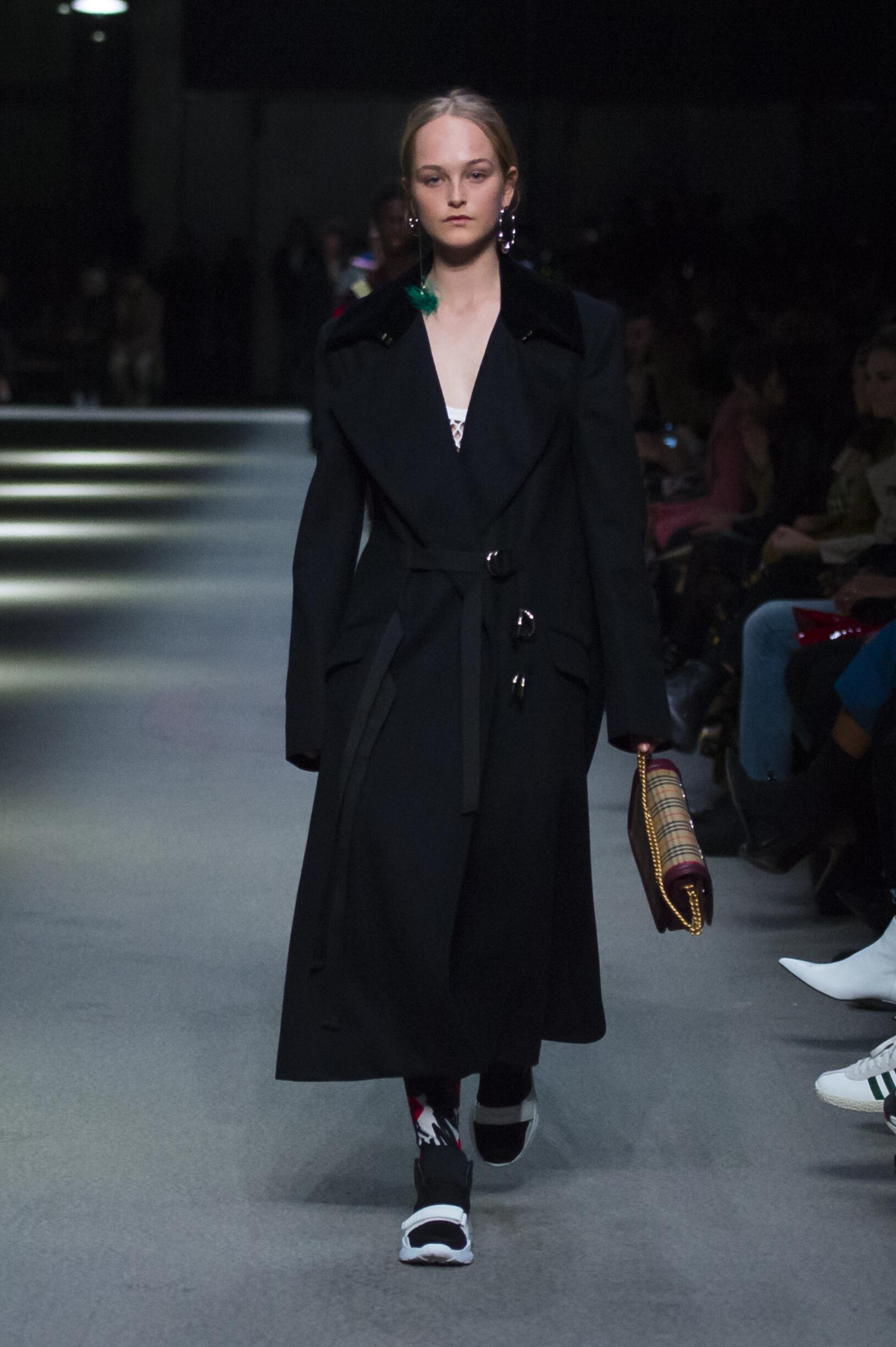 Burberry February 2018 Collection Look 42 London Fashion Week