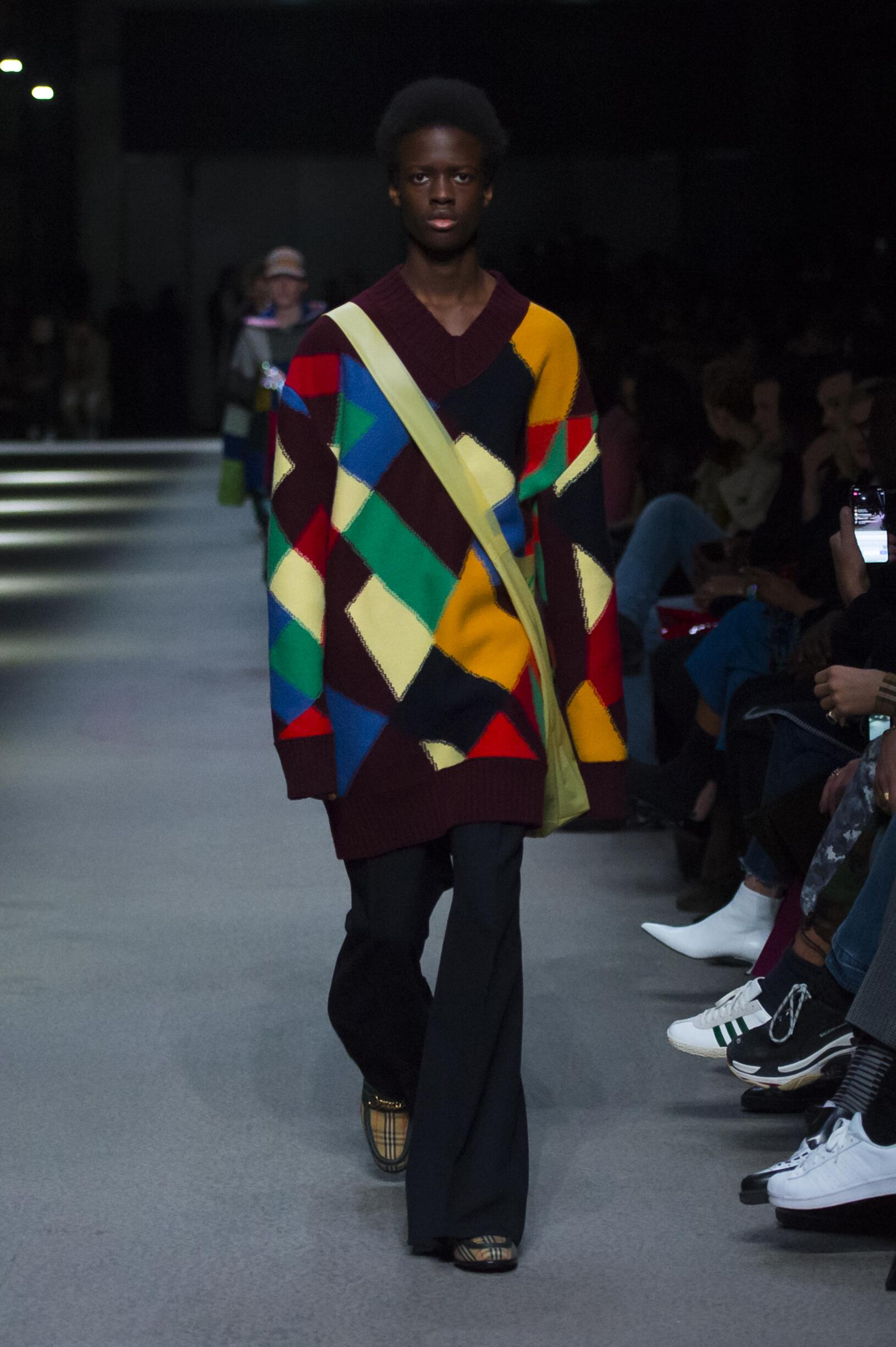 Burberry February 2018 Collection Look 43 London Fashion Week