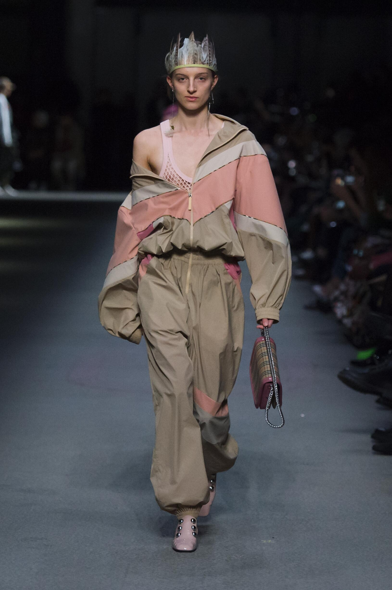Burberry February 2018 Collection Look 65 London Fashion Week