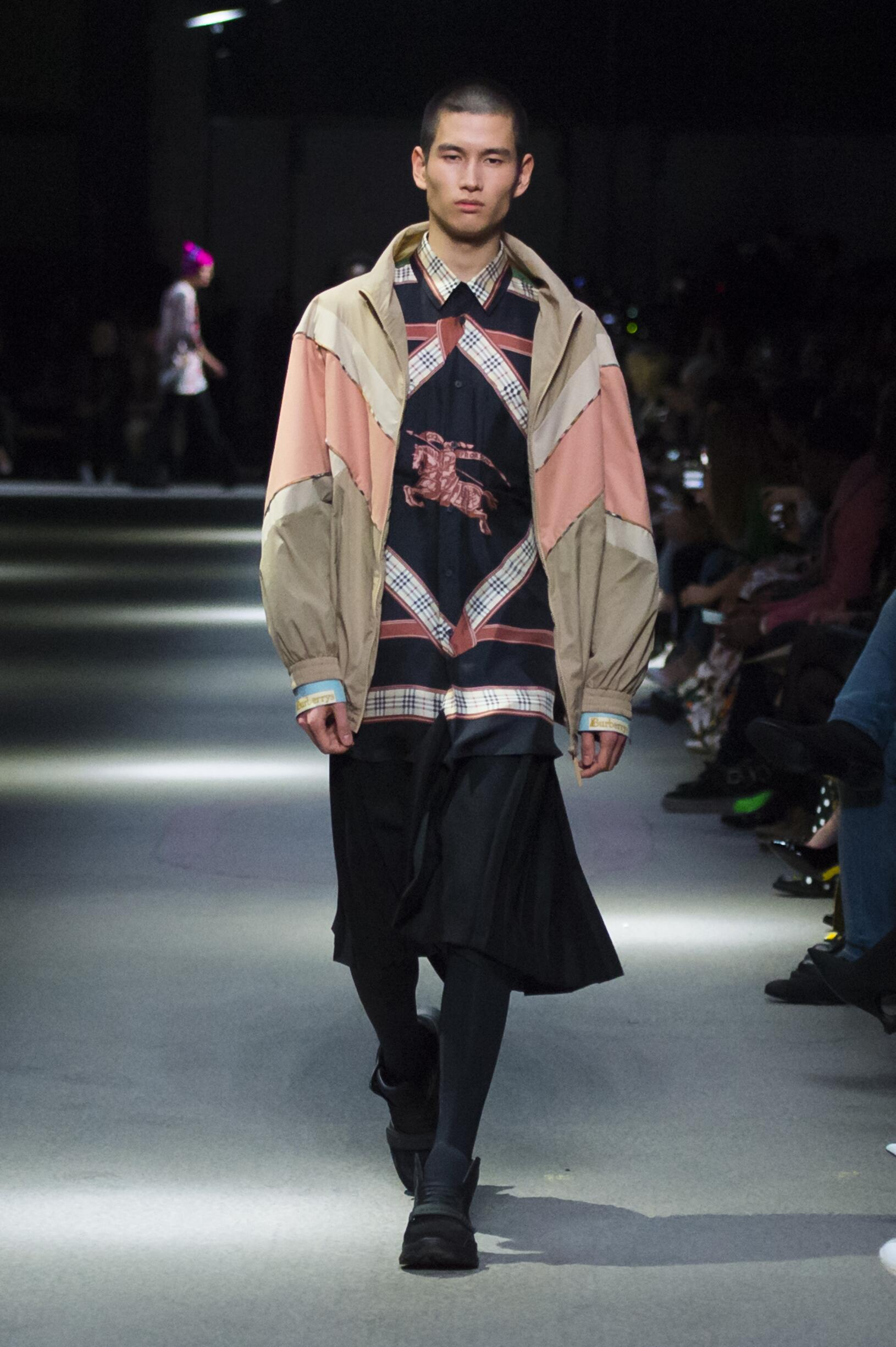 Burberry February 2018 Collection Look 70 London Fashion Week