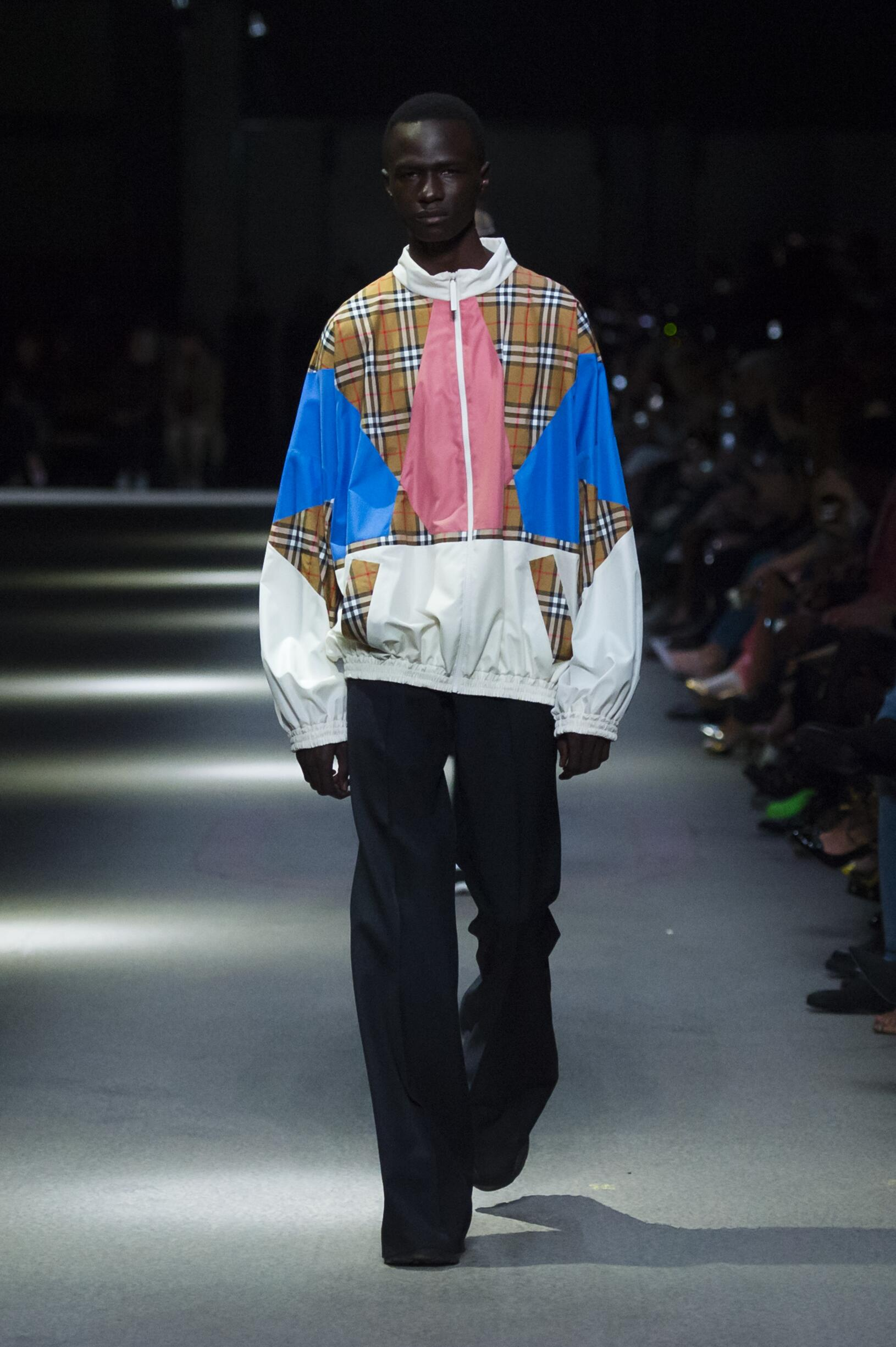 Burberry February 2018 Collection Look 8 London Fashion Week