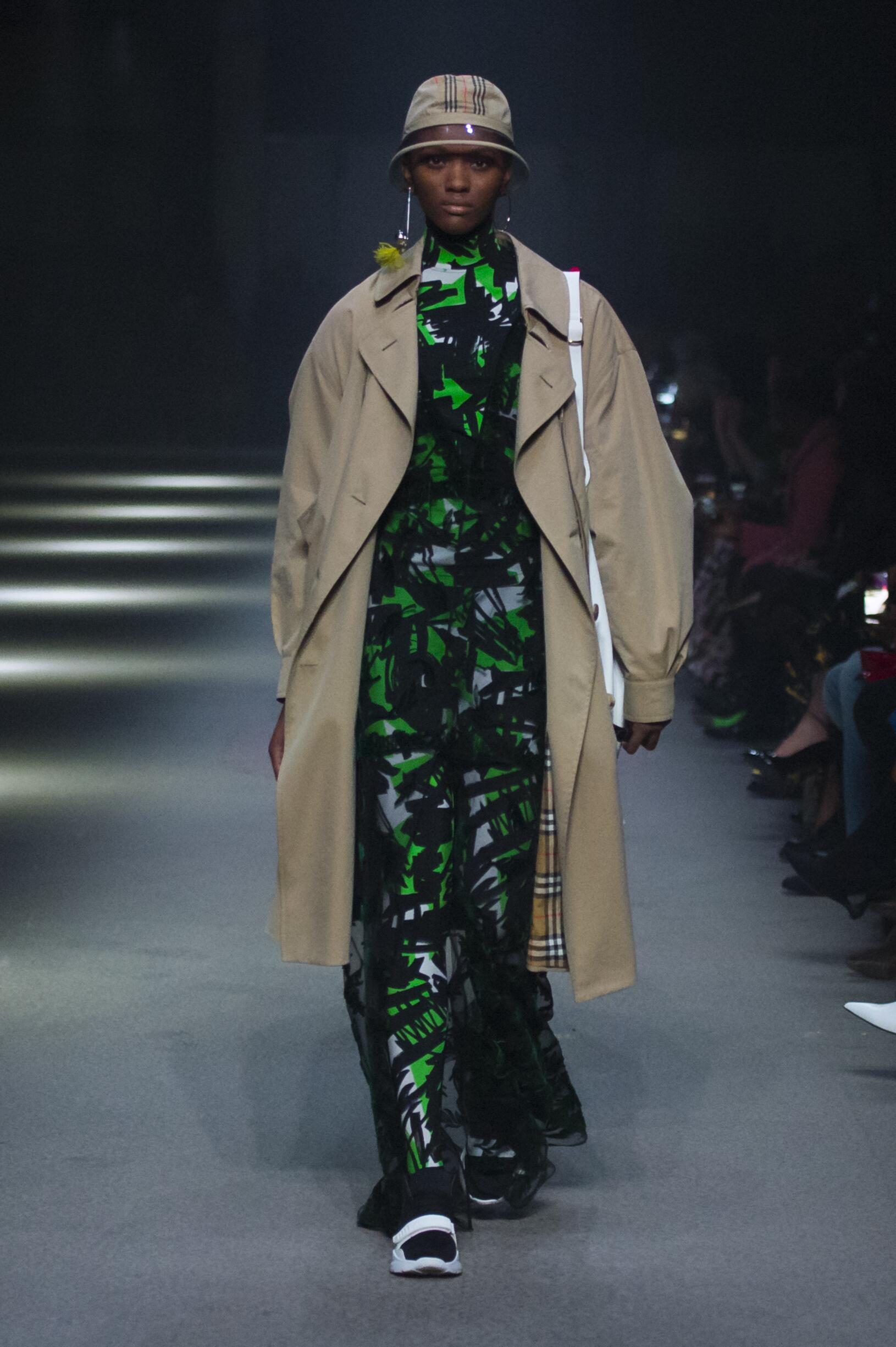Burberry February 2018 Collection Look 82 London Fashion Week