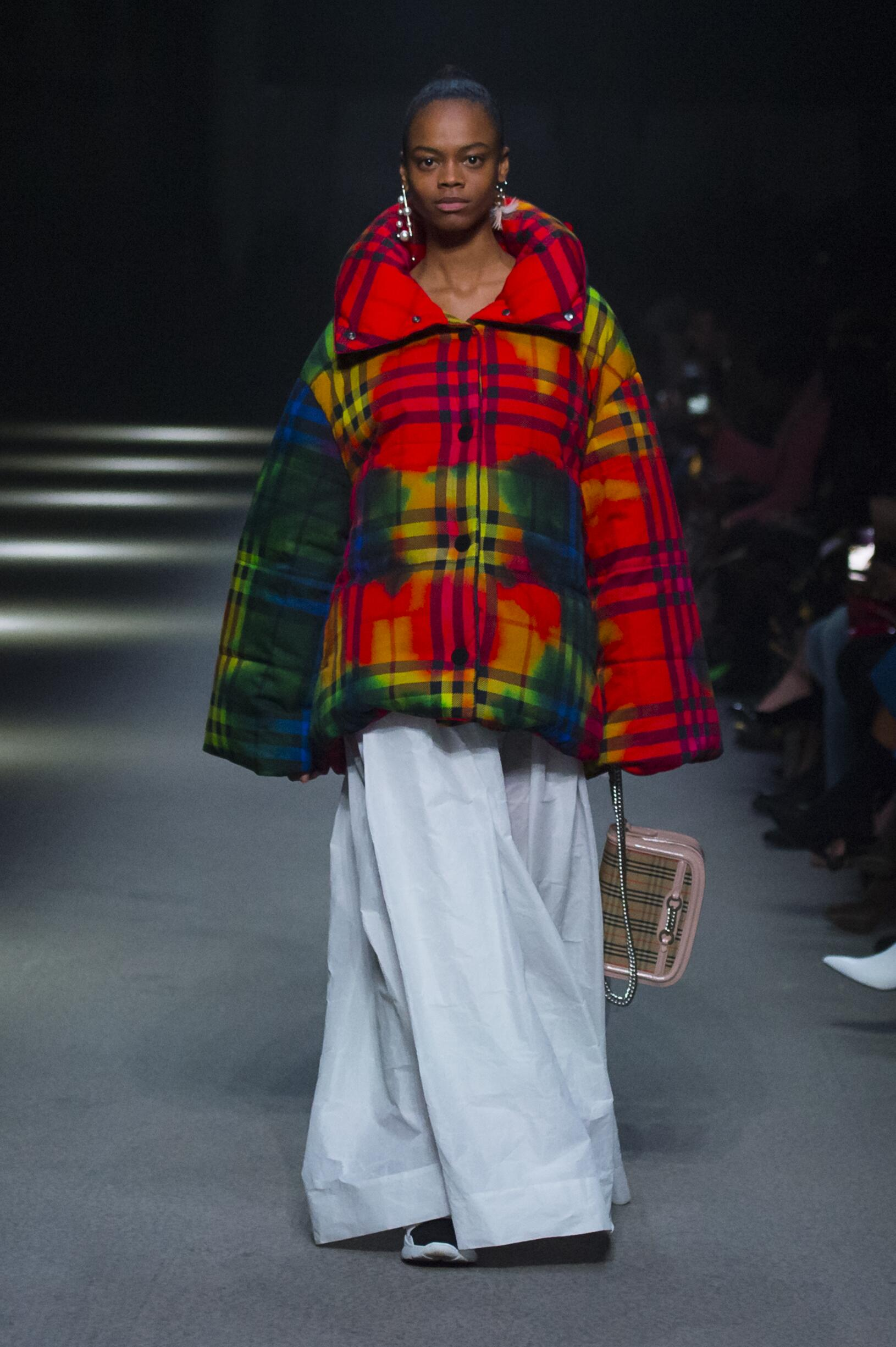 Burberry February 2018 Collection Look 83 London Fashion Week