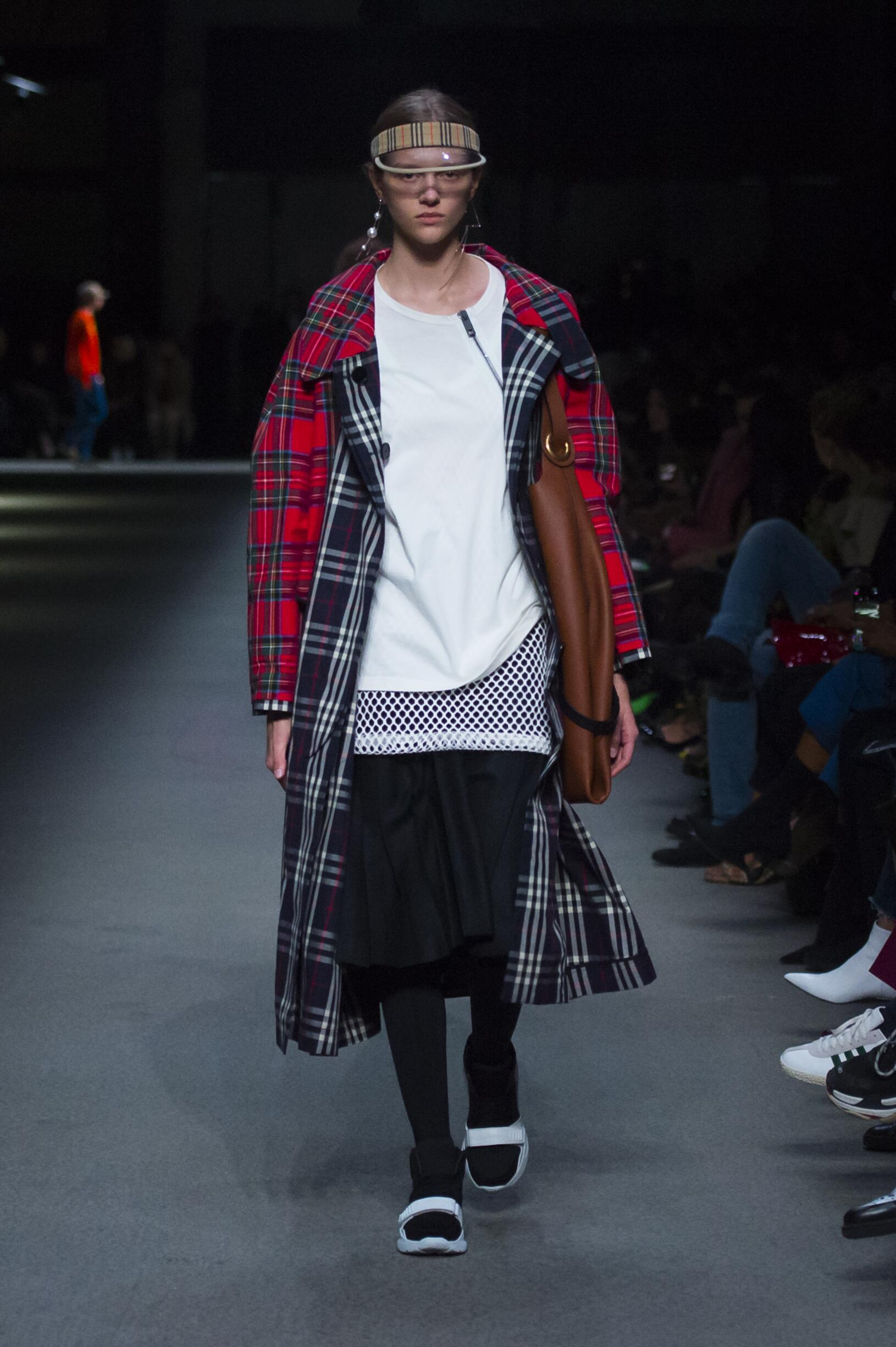 Burberry February 2018 Collection Look 9 London Fashion Week