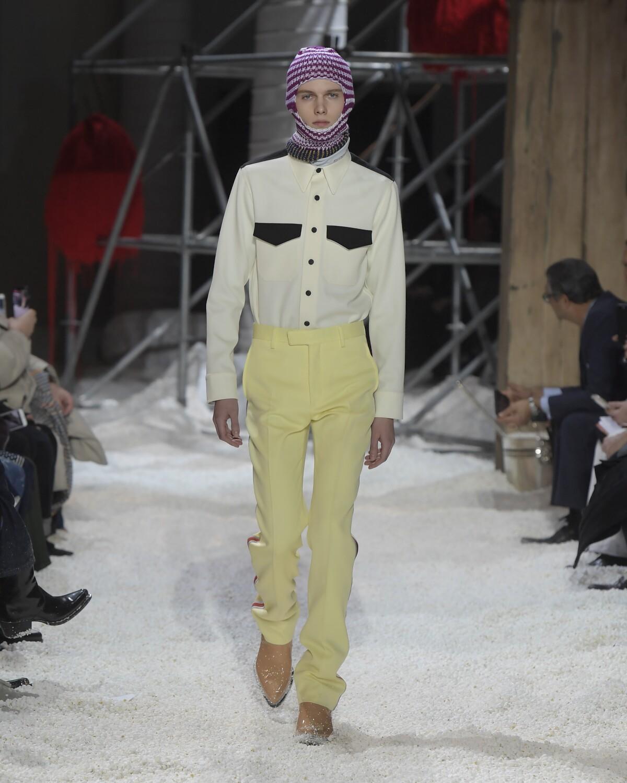 Calvin Klein 205W39NYC Man Fall Winter 2018