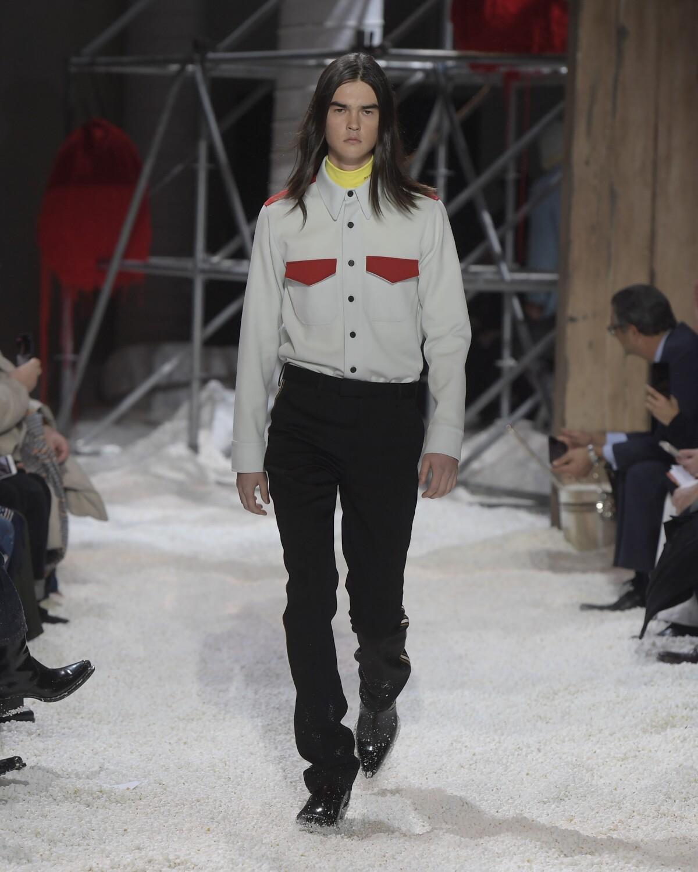 Calvin Klein 205W39NYC Menswear Fashion Show