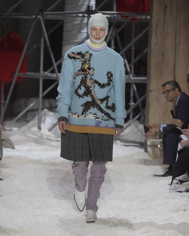 Calvin Klein 205W39NYC New York Fashion Week Man Runway