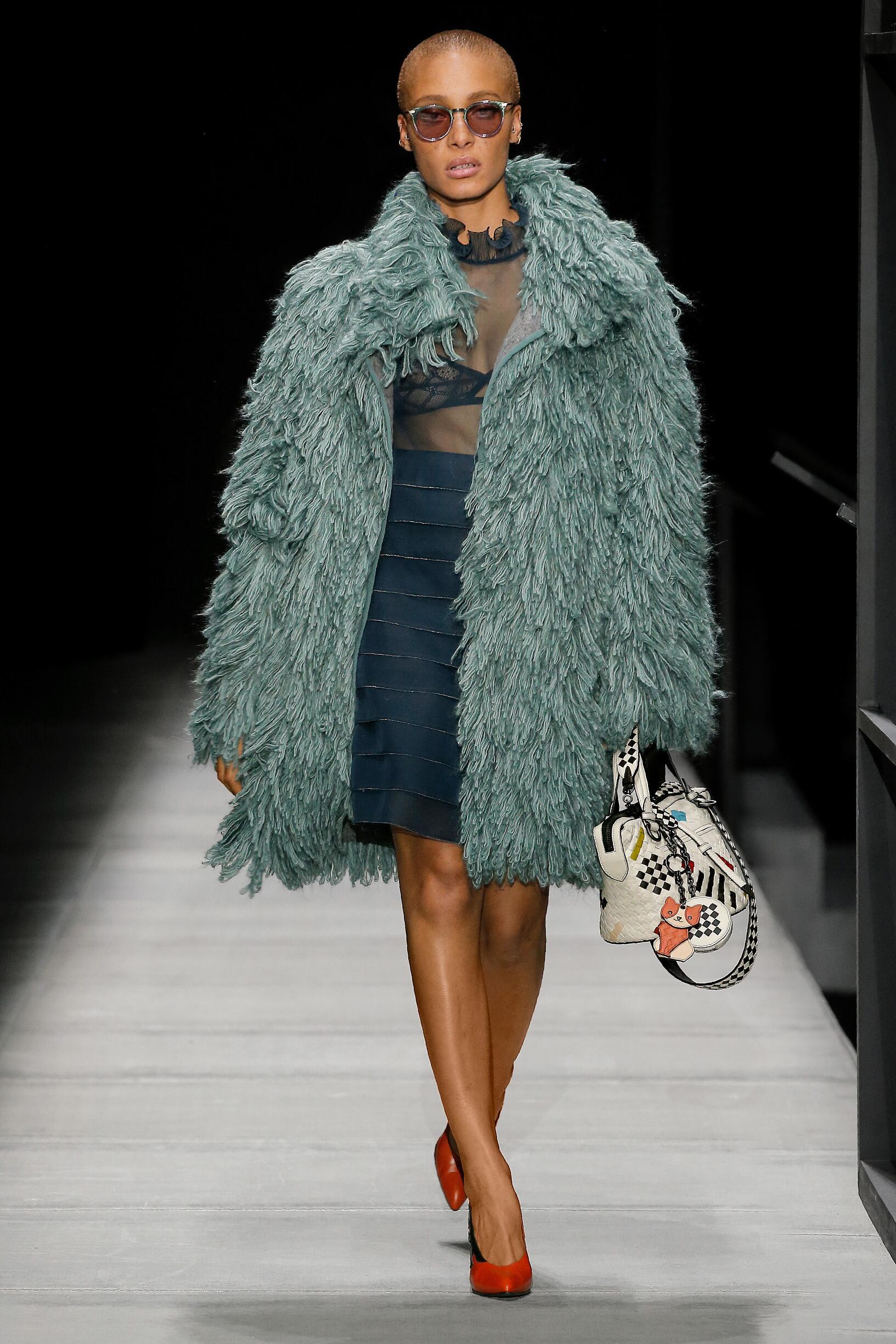 Catwalk Bottega Veneta Woman Fashion Show Winter 2018