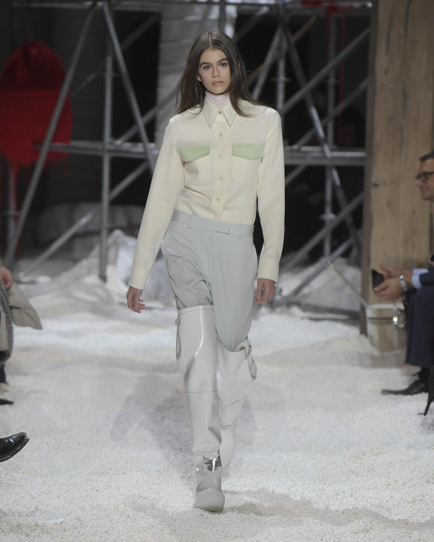 Catwalk Calvin Klein 205W39NYC Winter 2018