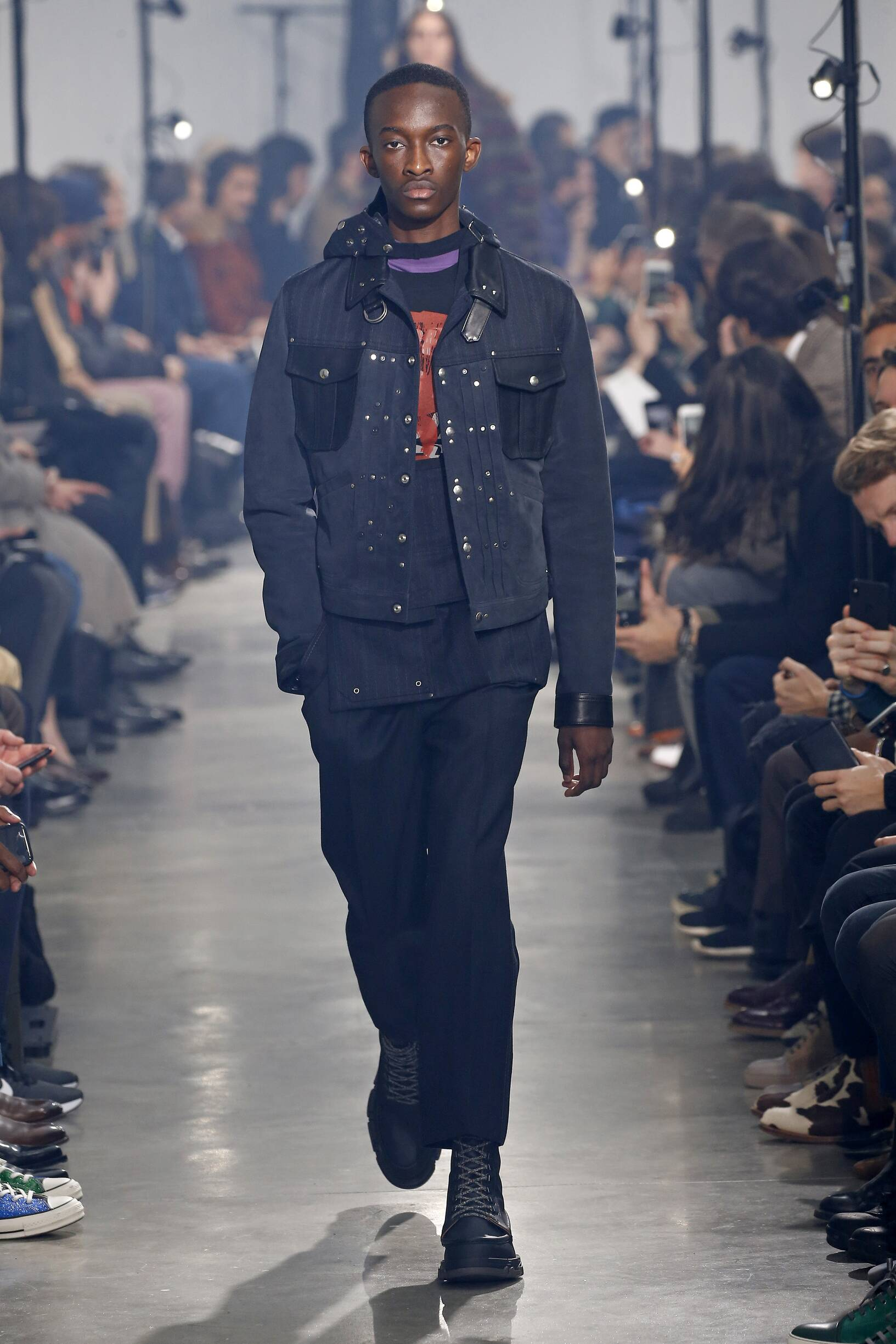 Catwalk Lanvin Man Fashion Show Winter 2018