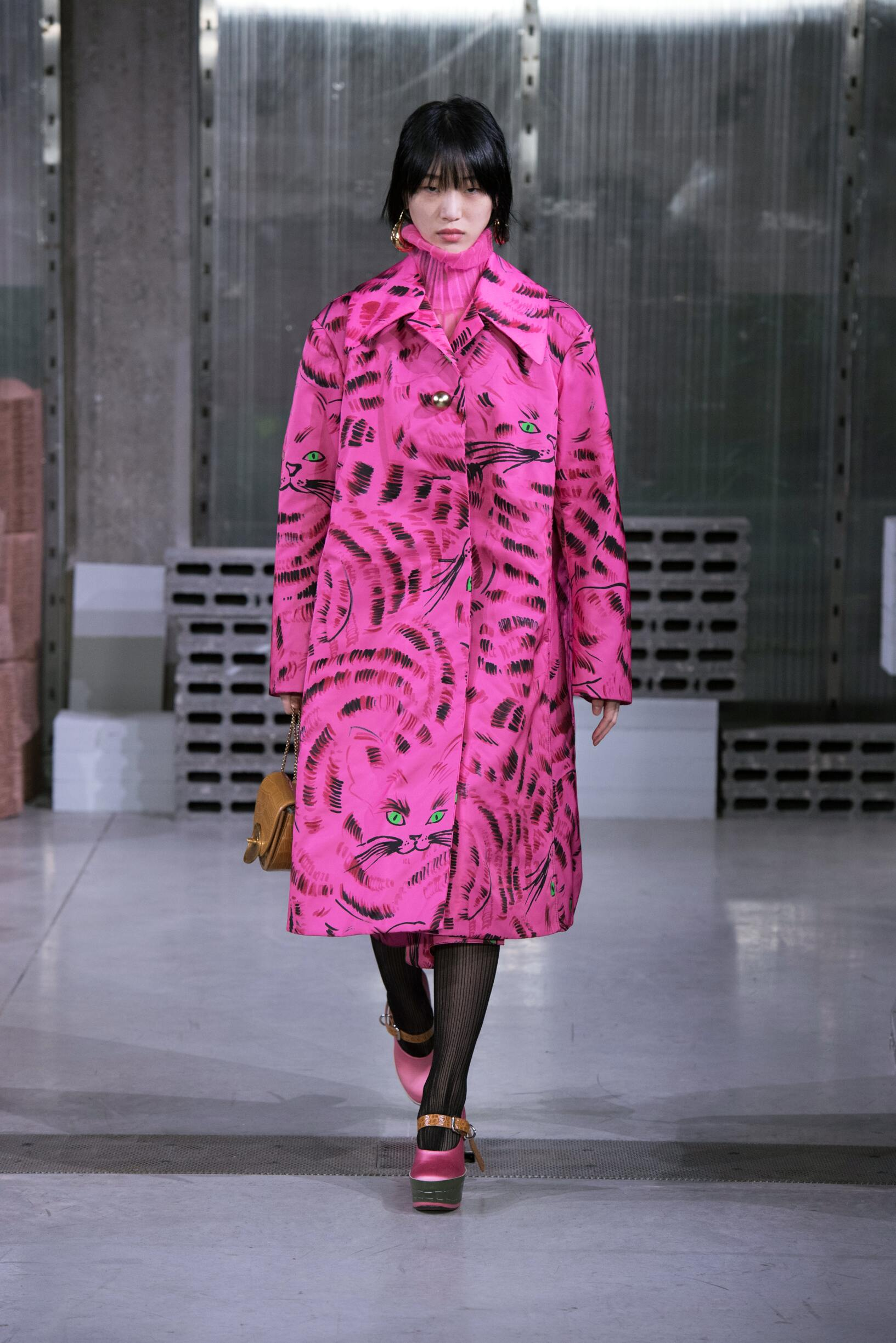 Catwalk Marni Woman Fashion Show Winter 2018
