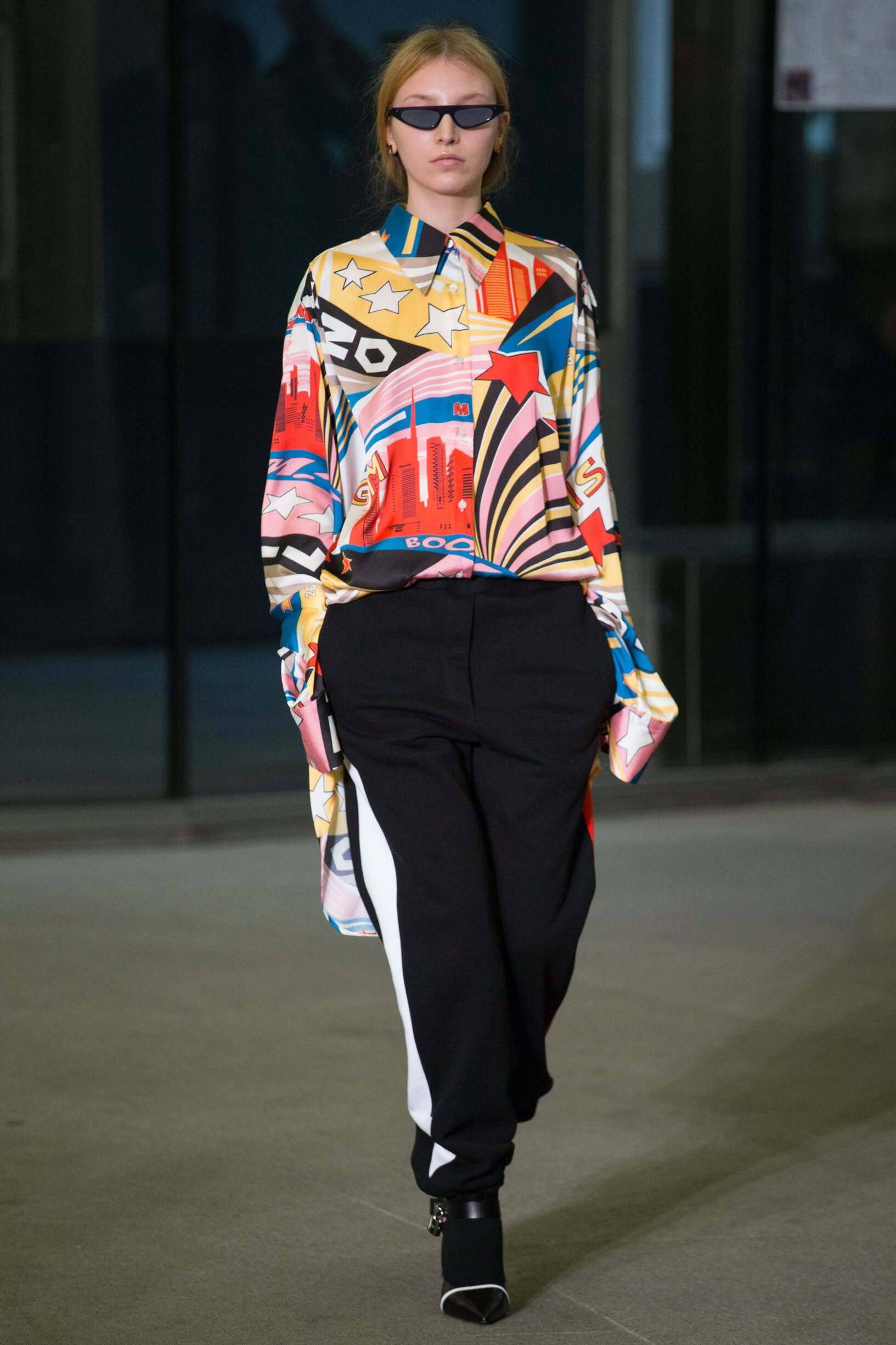 Catwalk Msgm Woman Fashion Show Winter 2018
