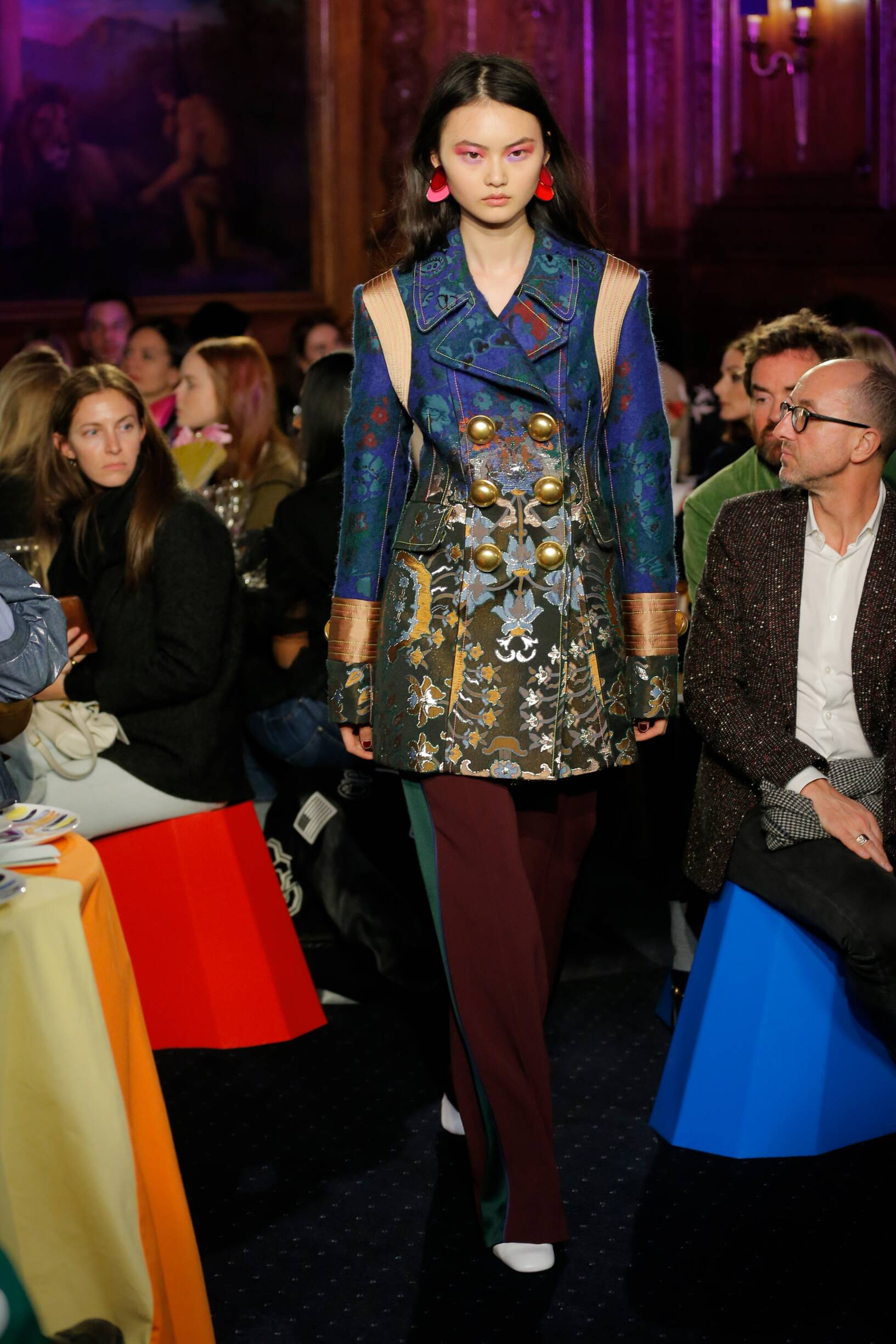 Catwalk Peter Pilotto Woman Fashion Show Winter 2018