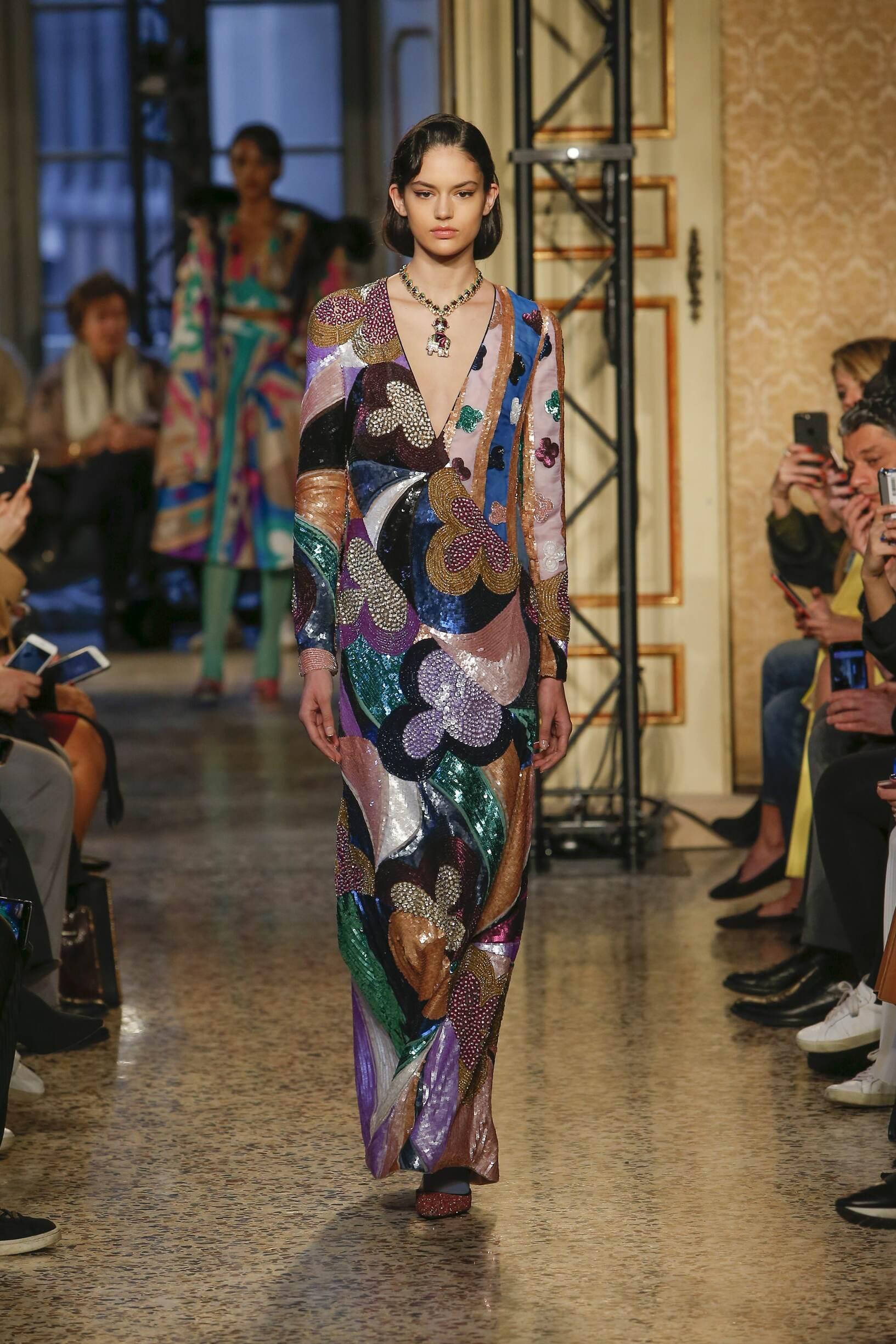 Emilio Pucci Milan Fashion Week