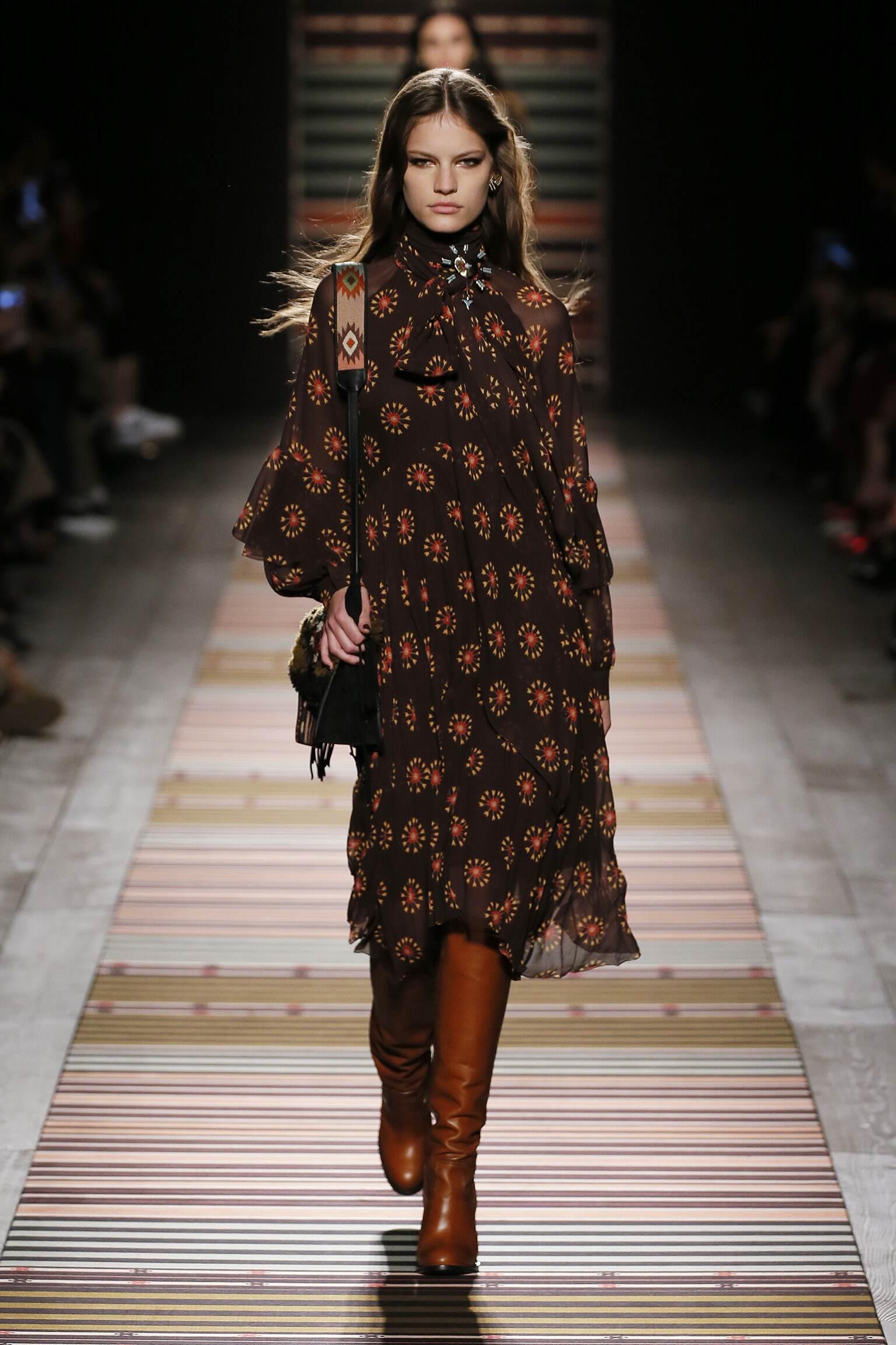 Etro Fall Winter 2018 Womens Collection Milan Fashion Week