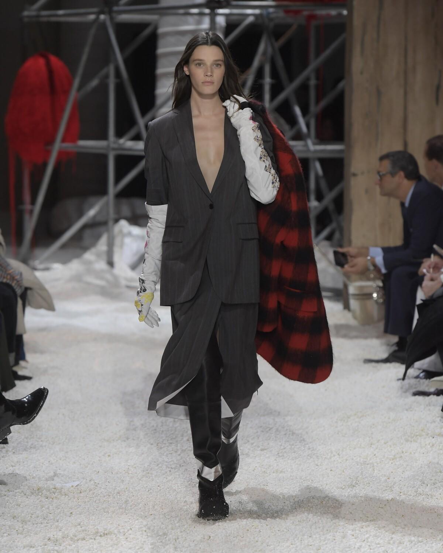 FW 2018-19 Calvin Klein 205W39NYC Fashion Show New York