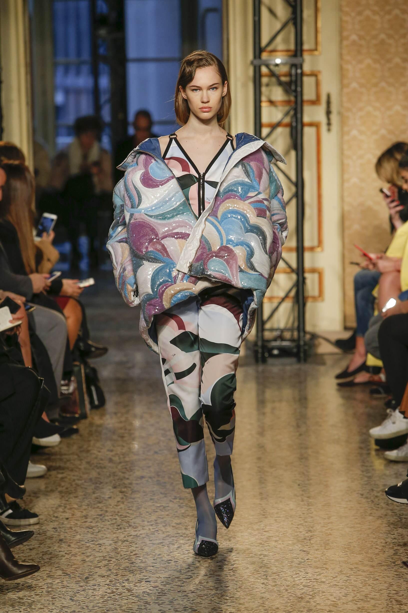 FW 2018-19 Emilio Pucci Fashion Show Milan