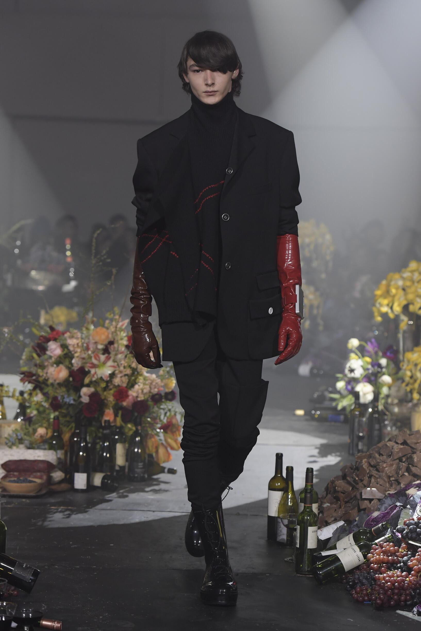 Fall 2018-19 Menswear Raf Simons