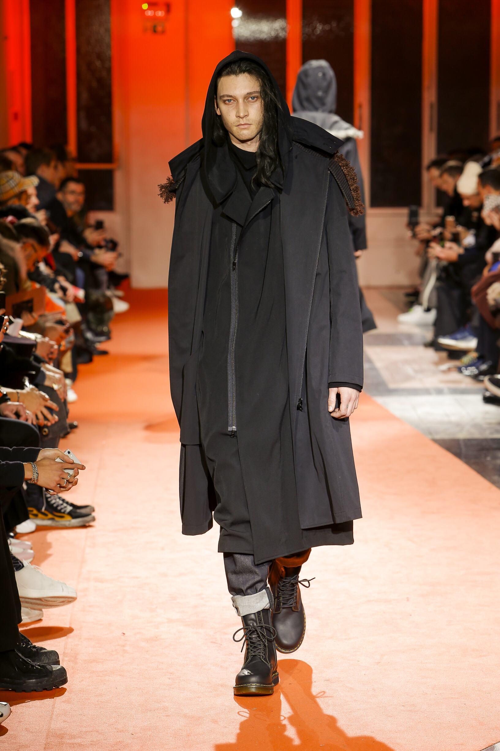 Fall 2018-19 Menswear Yohji Yamamoto