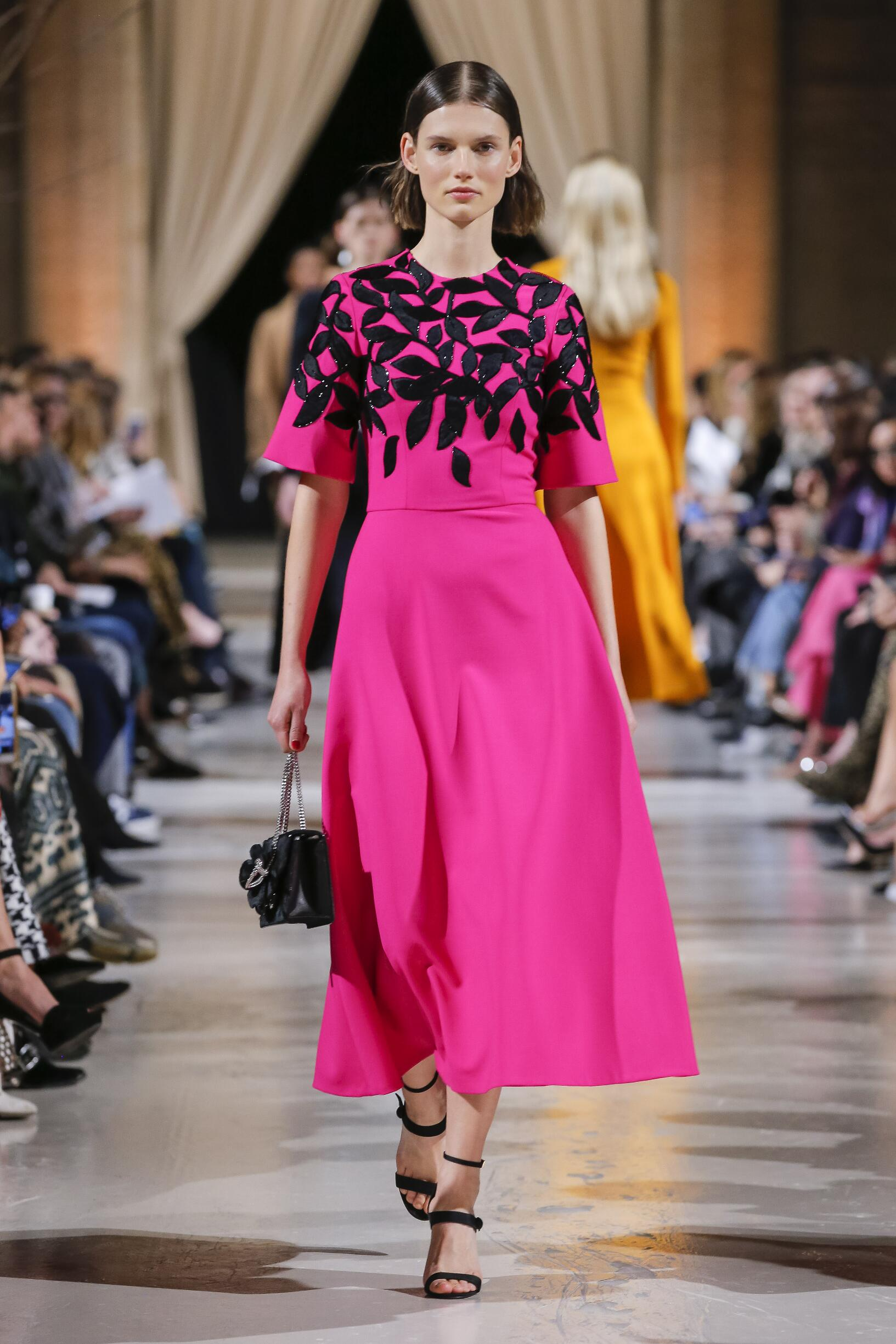 Fall 2018-19 Womenswear Oscar de la Renta