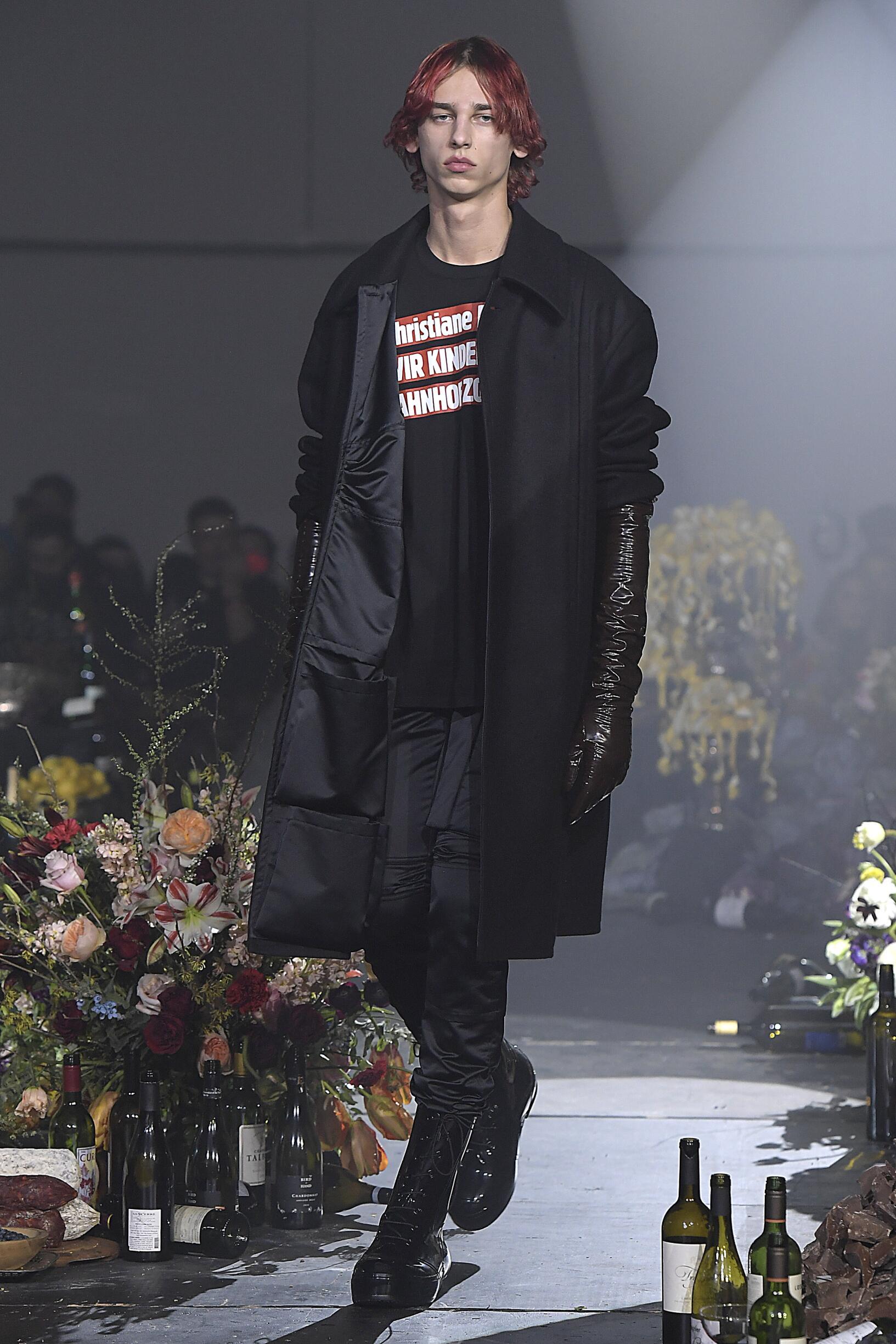 Fall Fashion 2018-19 Raf Simons