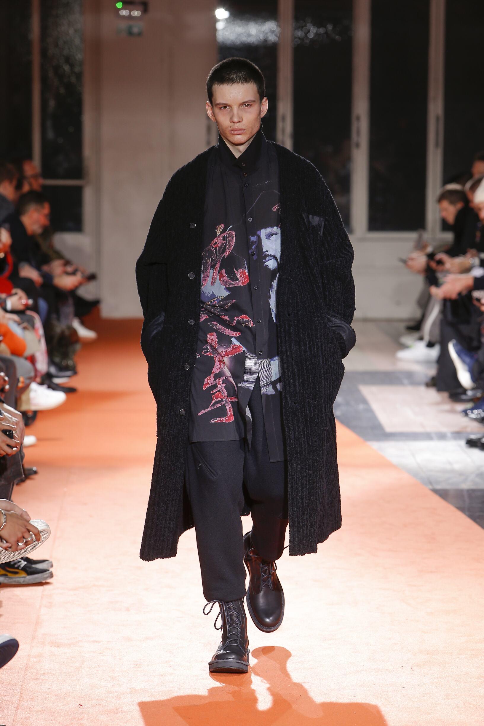 Fall Fashion 2018-19 Yohji Yamamoto