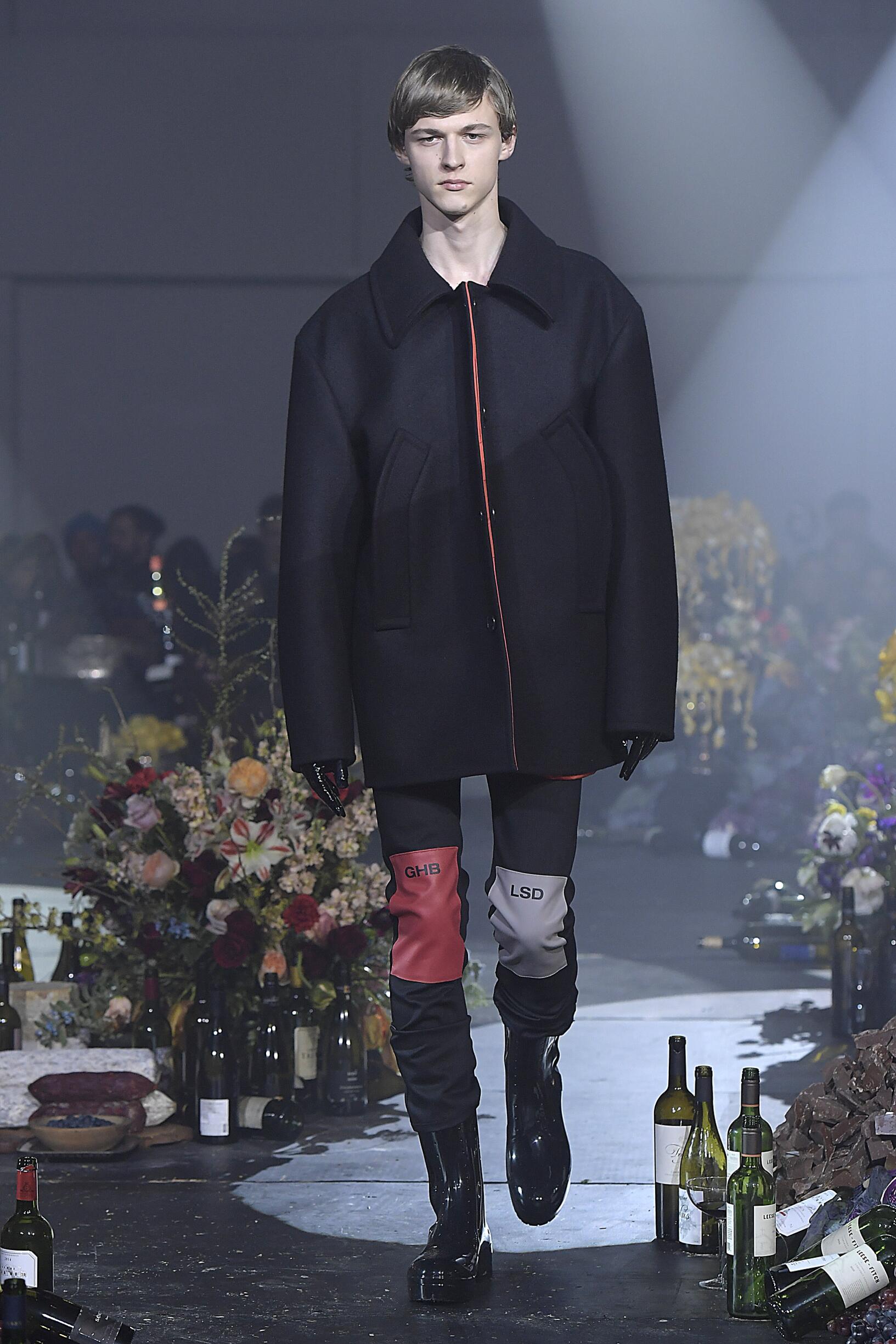 Fall Fashion Man Trends 2018 Raf Simons