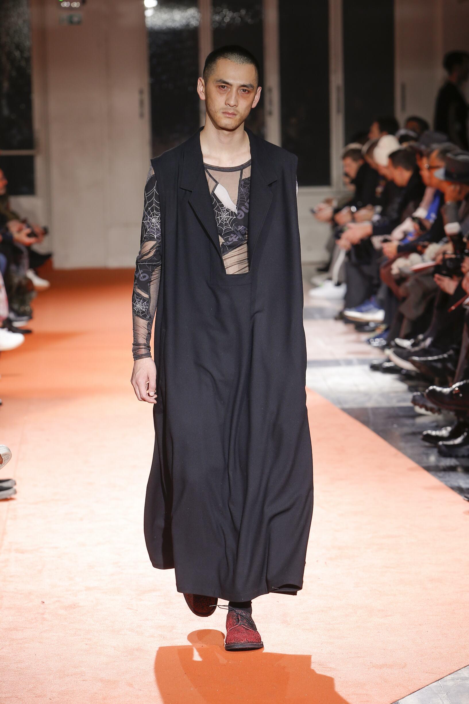 Fall Fashion Man Trends 2018 Yohji Yamamoto