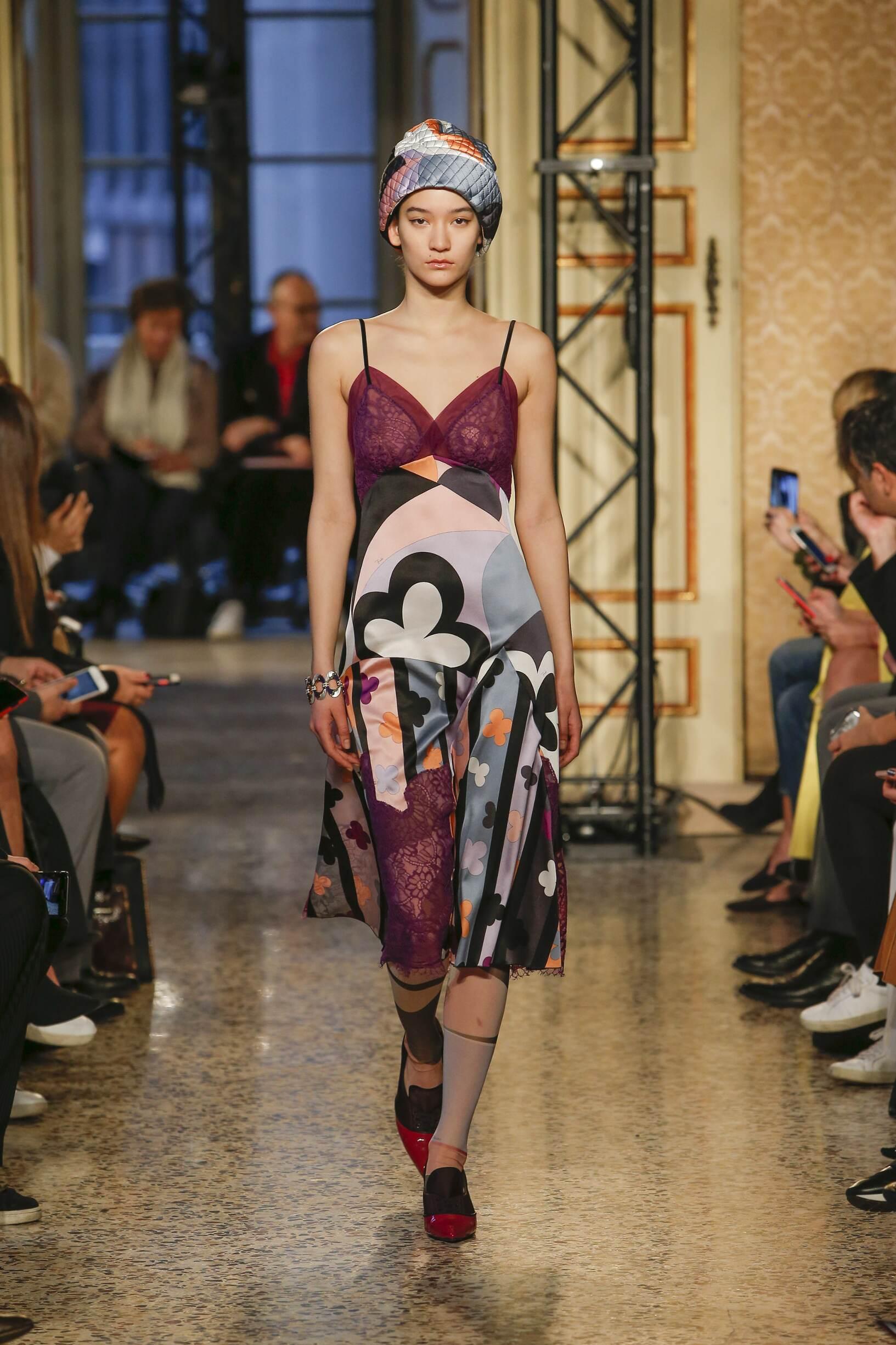 Fall Fashion Woman Trends 2018 Emilio Pucci