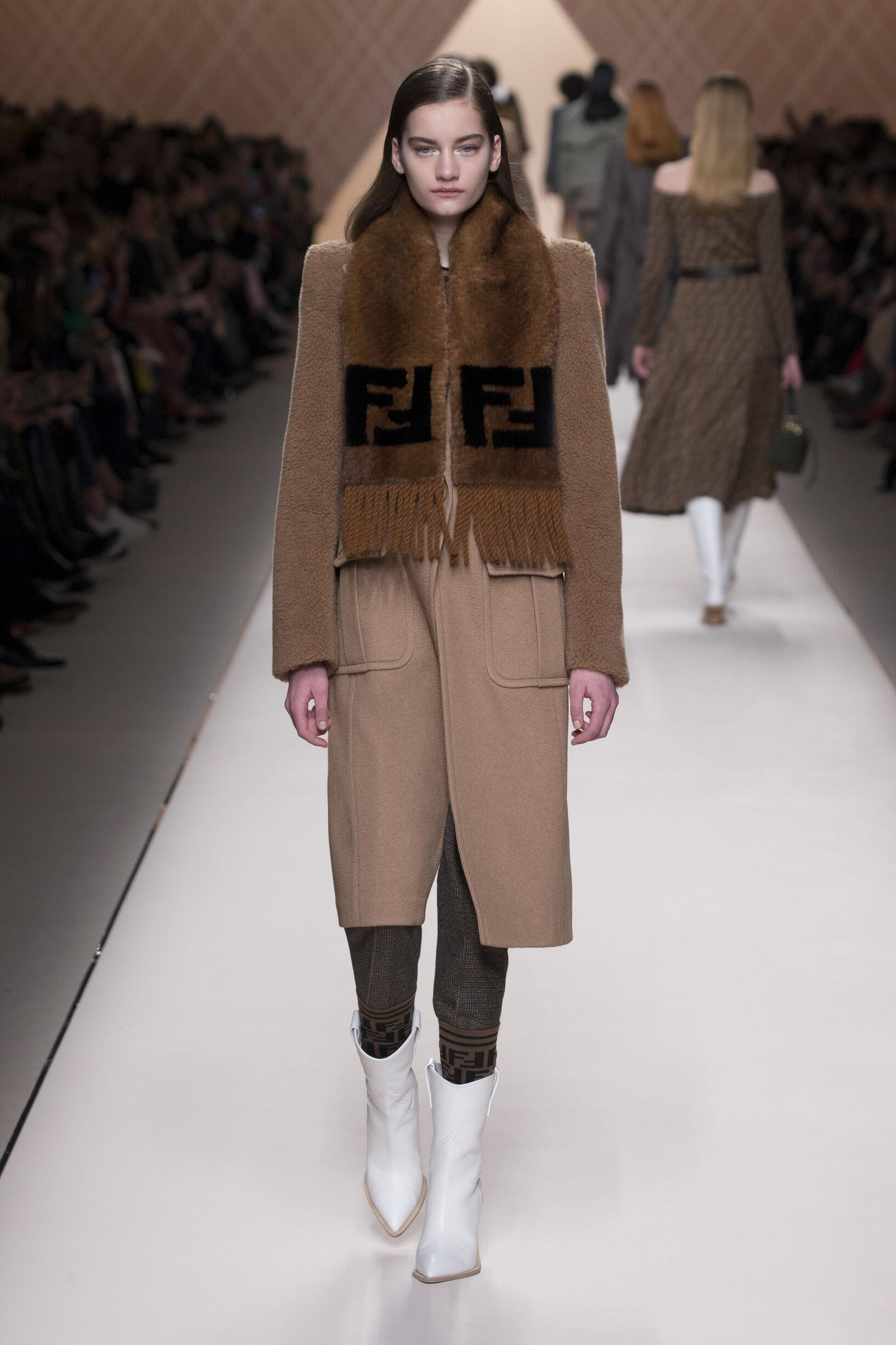 Fall Fashion Woman Trends 2018 Fendi
