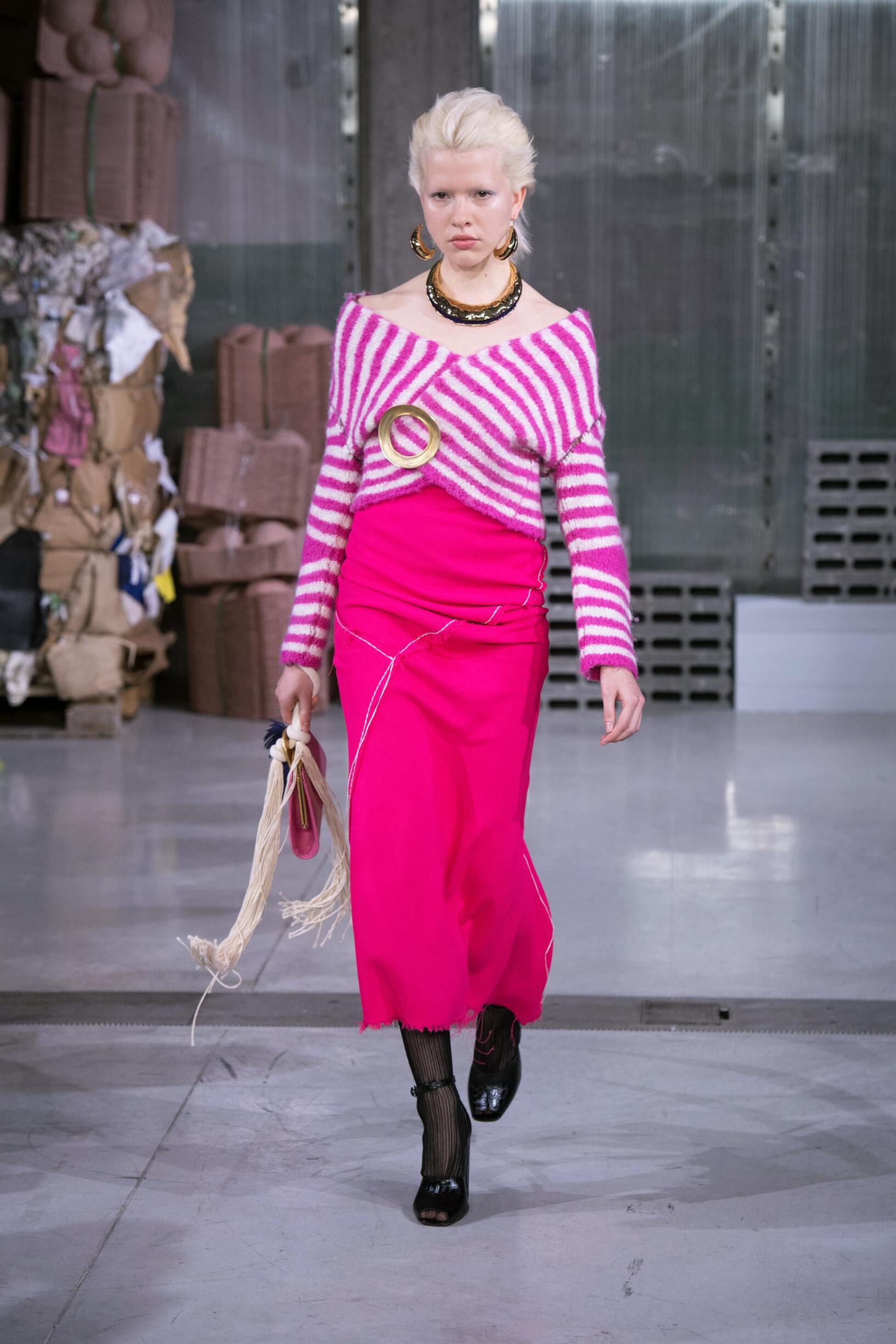 Fall Fashion Woman Trends 2018 Marni