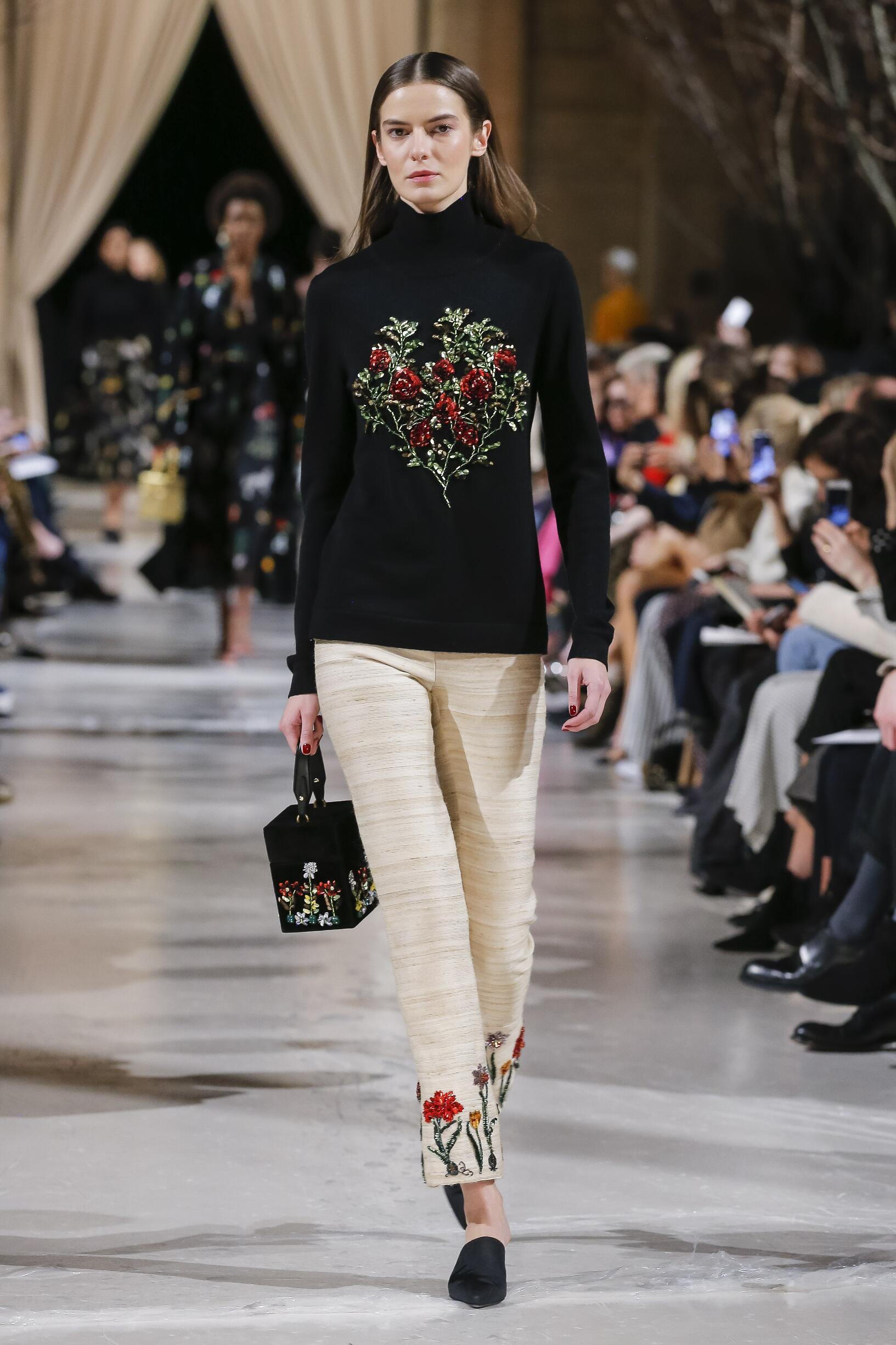 Fall Fashion Woman Trends 2018 Oscar de la Renta