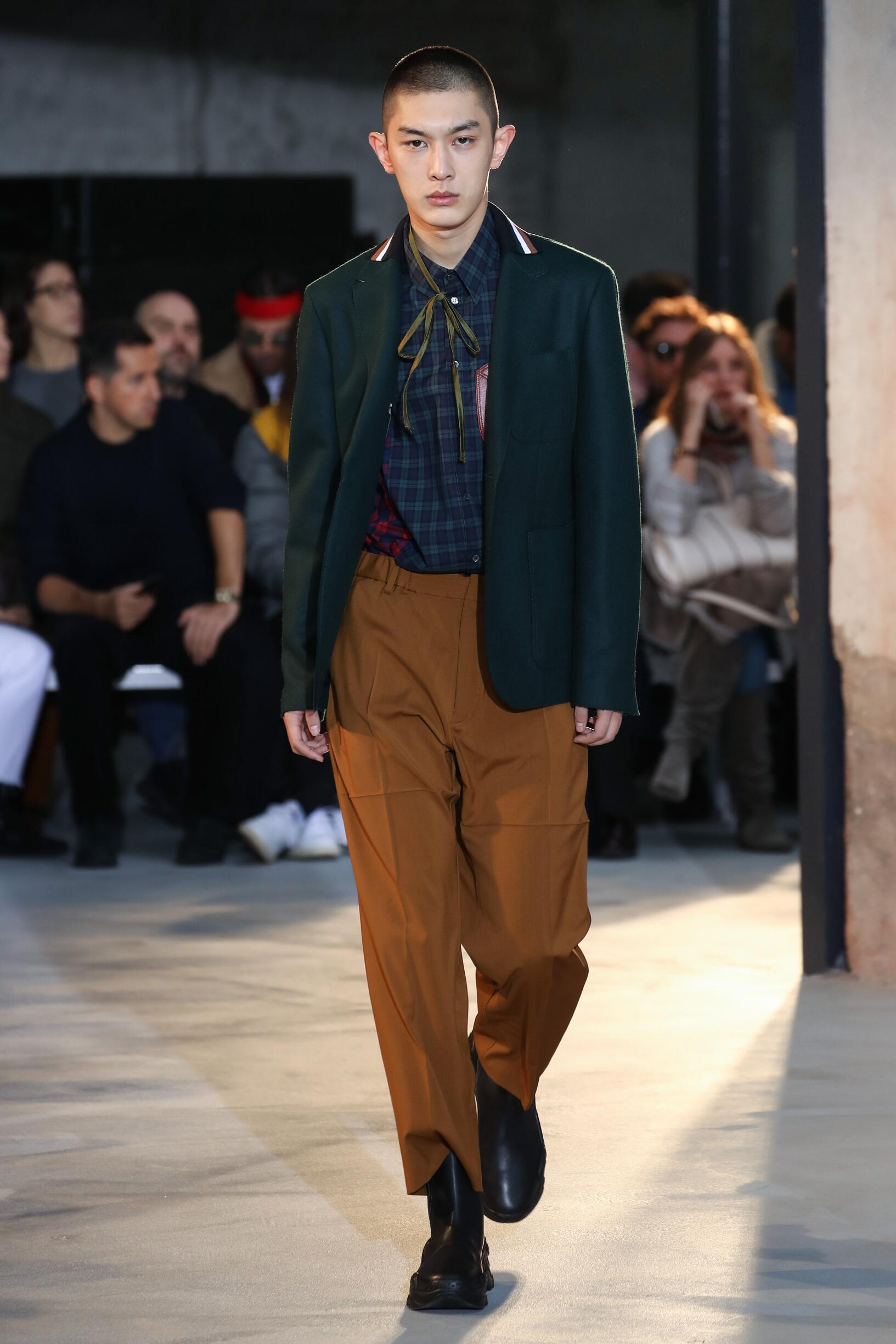 Fall Winter 2018 Man Milan N°21 Collection
