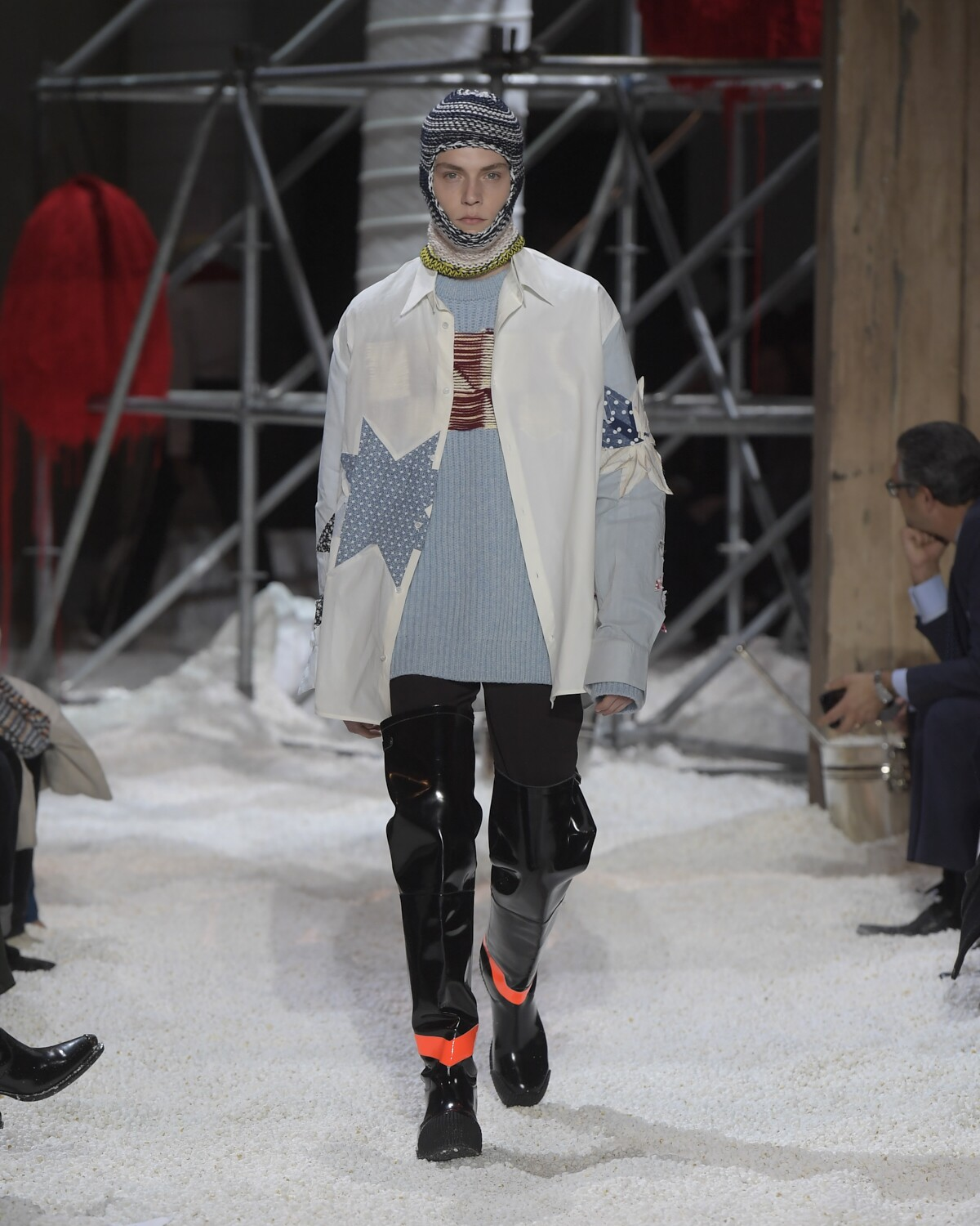 Fall Winter 2018 Man New York Calvin Klein 205W39NYC Collection
