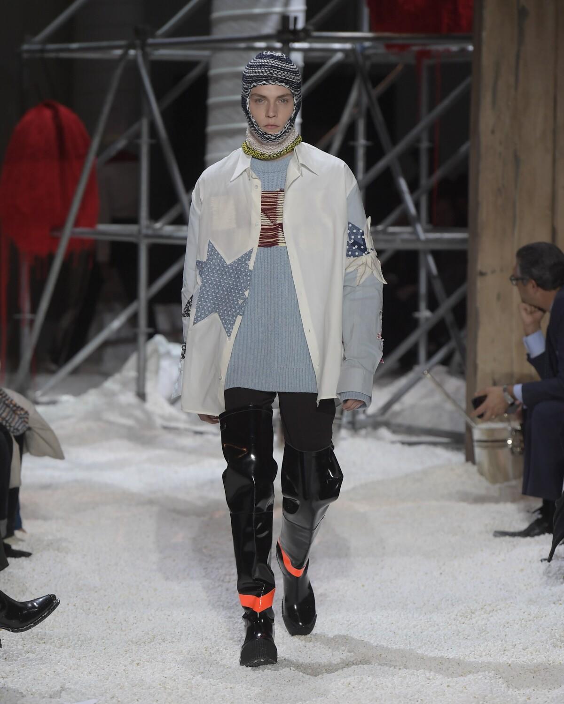 Fall Winter 2018 Man New York Calvin Klein 205W39NYC Collection