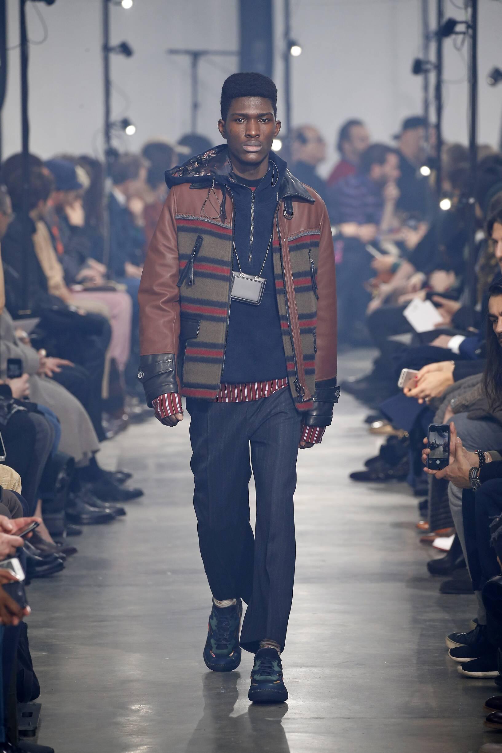 Fall Winter 2018 Man Paris Lanvin Collection