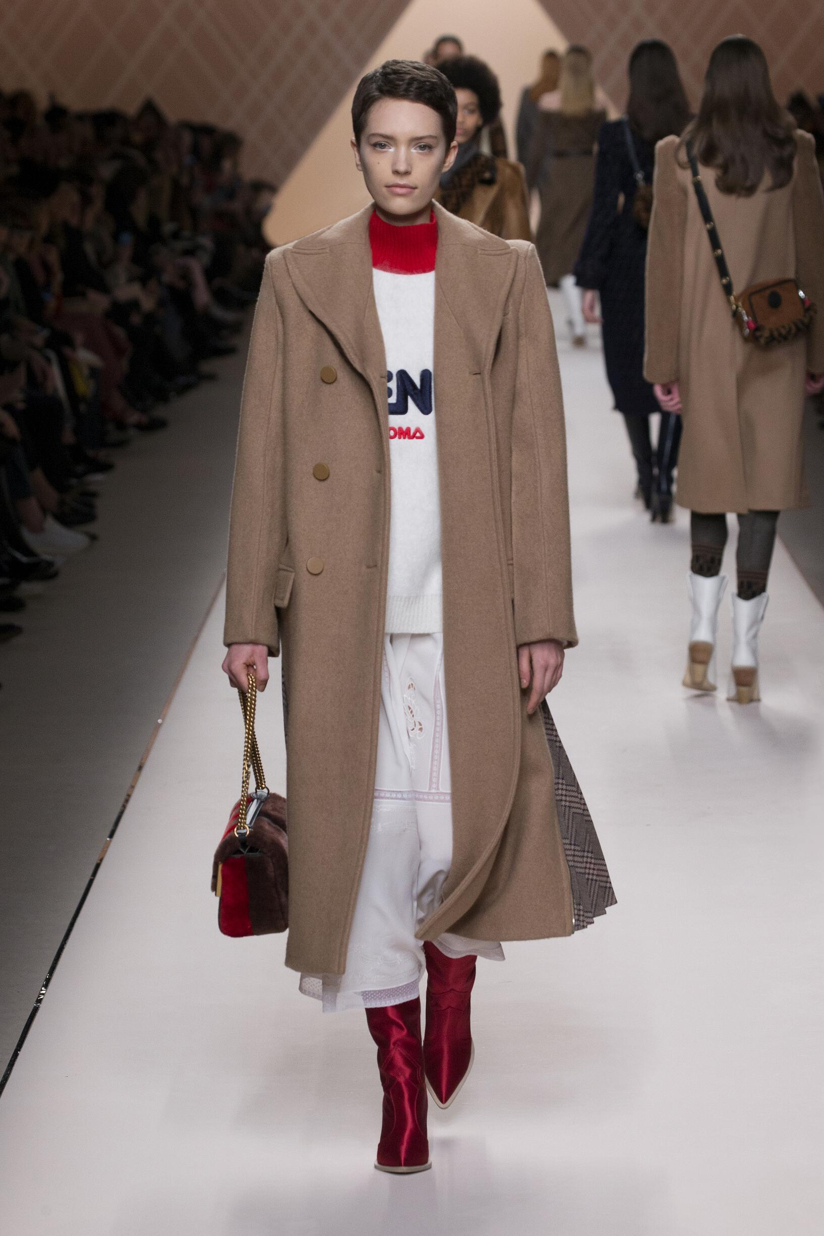 Fall Winter 2018 Woman Milan Fendi Collection