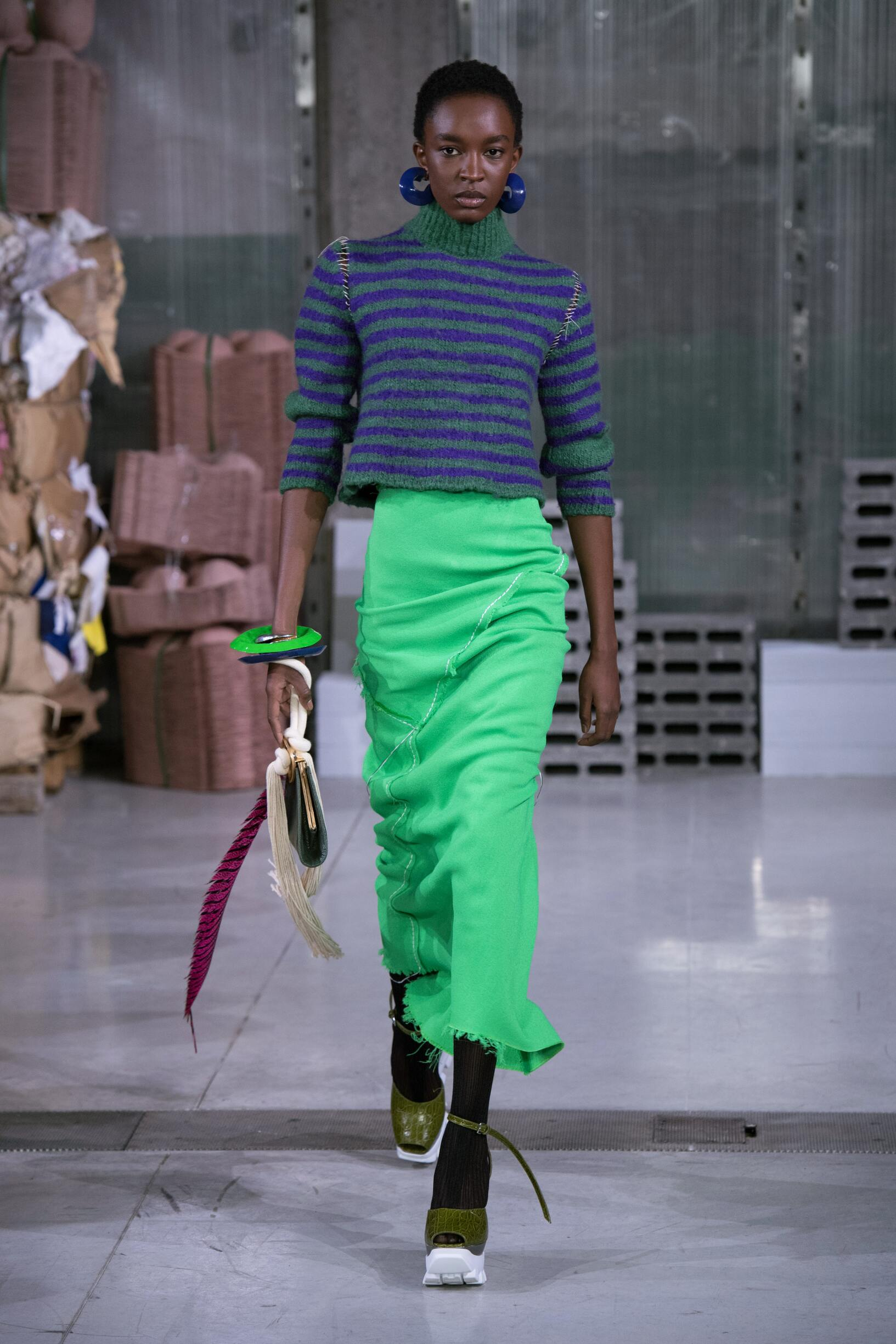 Fall Winter 2018 Woman Milan Marni Collection