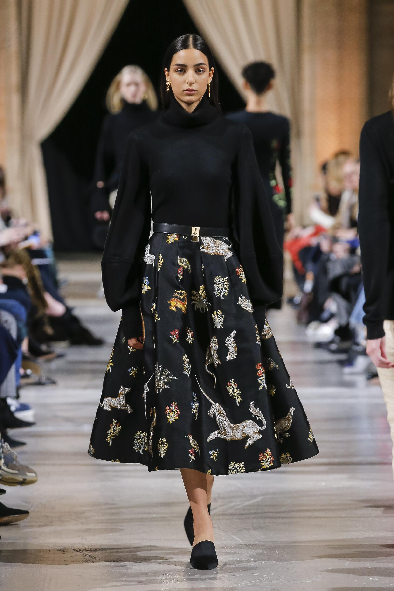 Fall Winter 2018 Woman New York Oscar de la Renta Collection