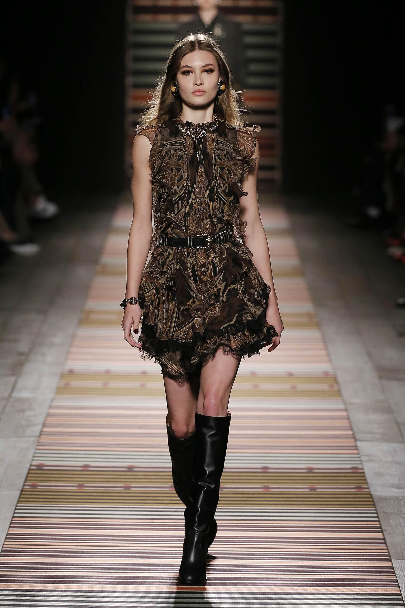 Fashion 2018-19 Woman Trends Etro