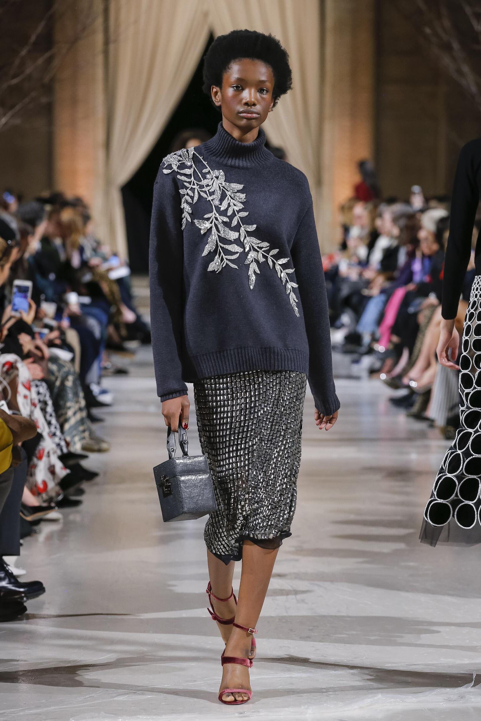 Fashion 2018-2019 Catwalk Oscar de la Renta Winter
