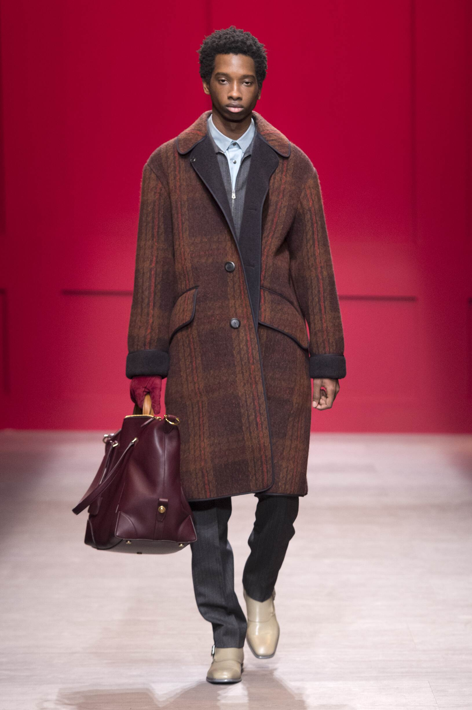 Fashion 2018-2019 Man Catwalk Salvatore Ferragamo Winter