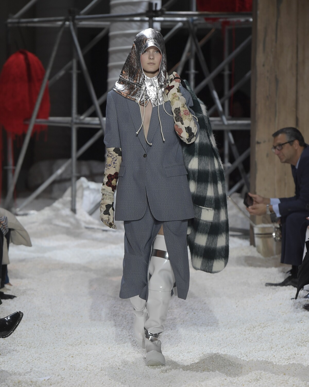 Fashion 2018-2019 Woman Catwalk Calvin Klein 205W39NYC Winter